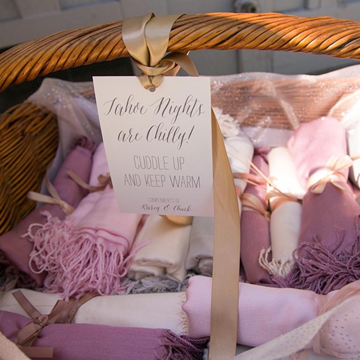 Sweet + Crafty   Wedding Pashmina Sign