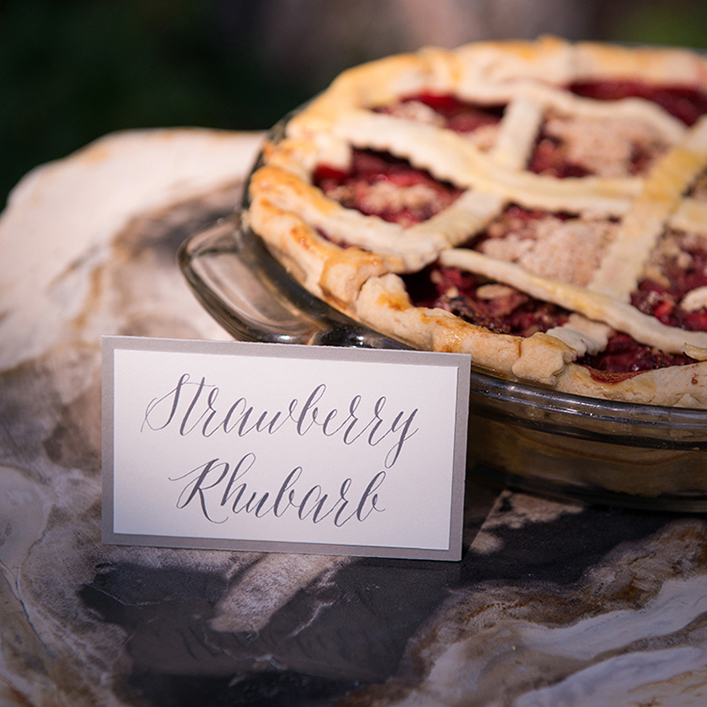 Sweet + Crafty   Wedding Dessert Signage