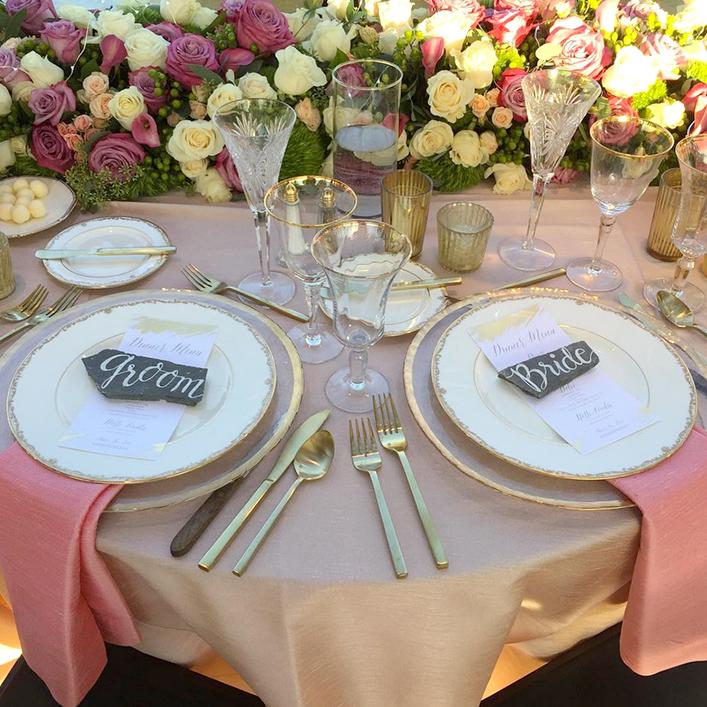 Sweet + Crafty   Wedding Slate Place Cards
