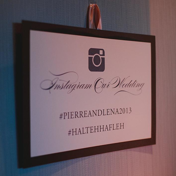 Sweet + Crafty   Wedding Hashtag Sign