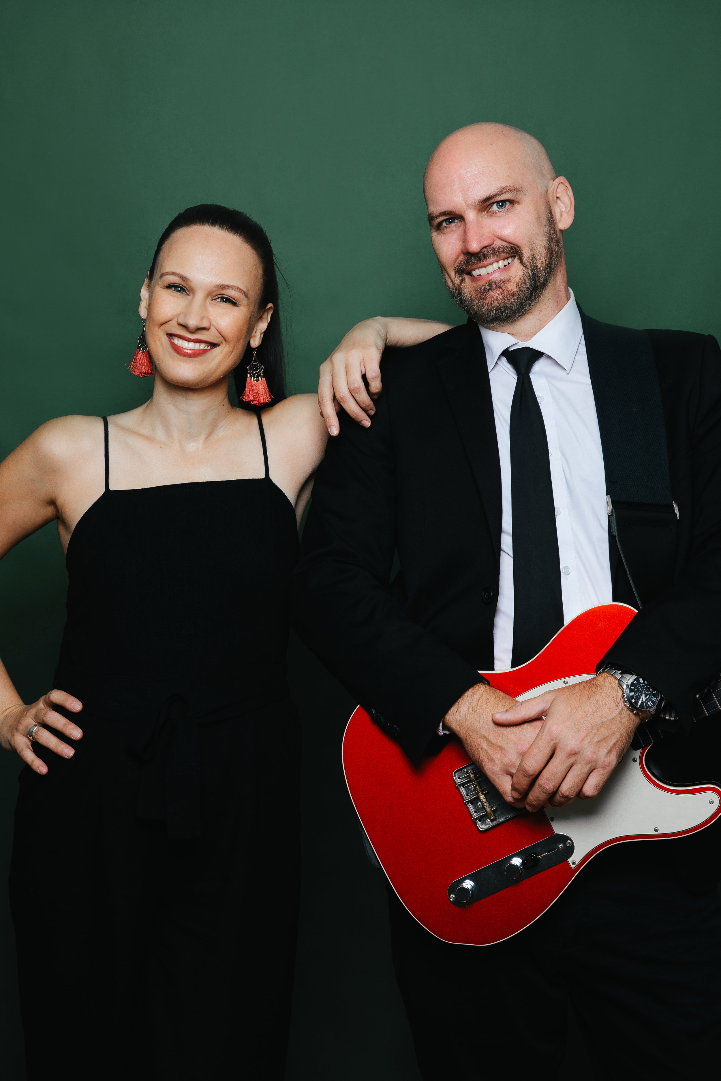 Chrissy + Tom - Singer + Guitarist DuoA classy duo who have been performing together forever. They can get any generation up on the dance floor and will never leave you disappointed.A duo that fits any bill with a serious touch of smooth.