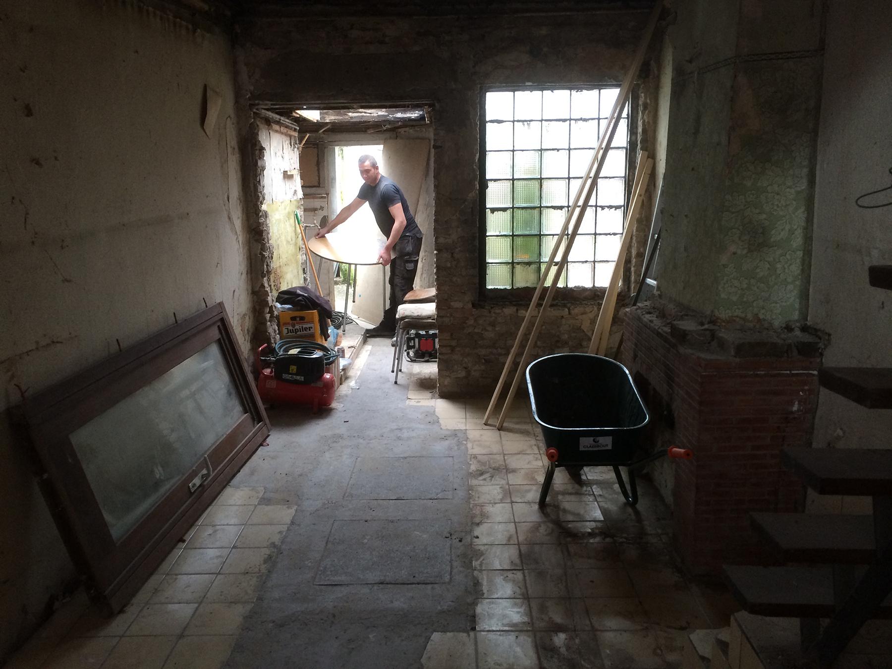 Totaalrenovatie Brugge - interieur - afbraakwerken voor 2.jpg