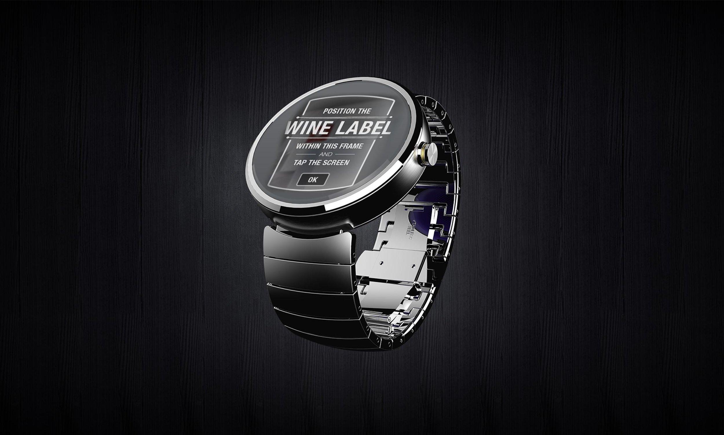 Smartwatch med vivino app