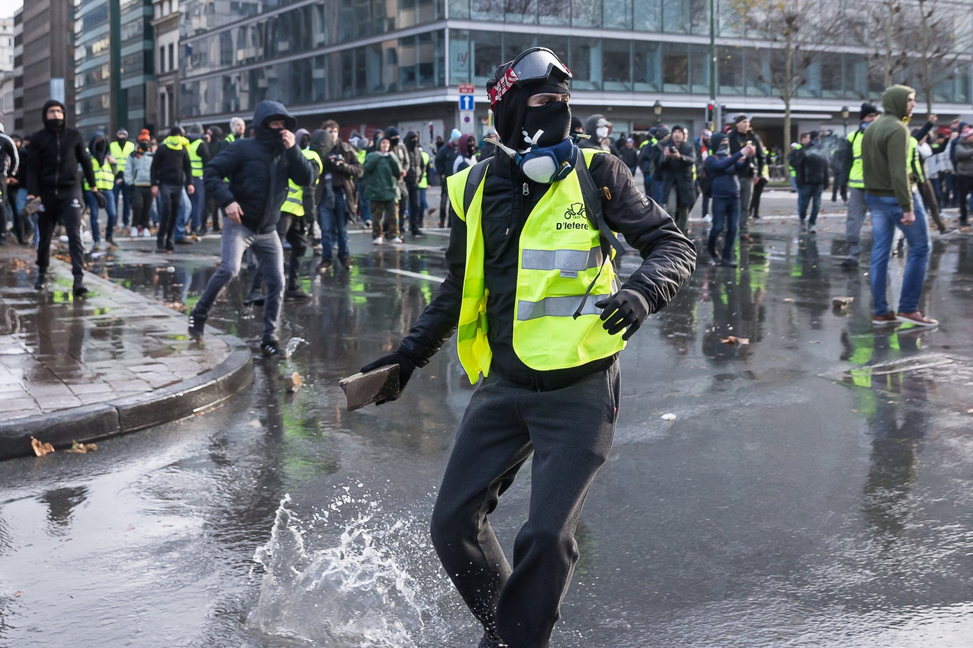 France's Yellow Vest Protesters Want to Fight Climate Change - The New Republic