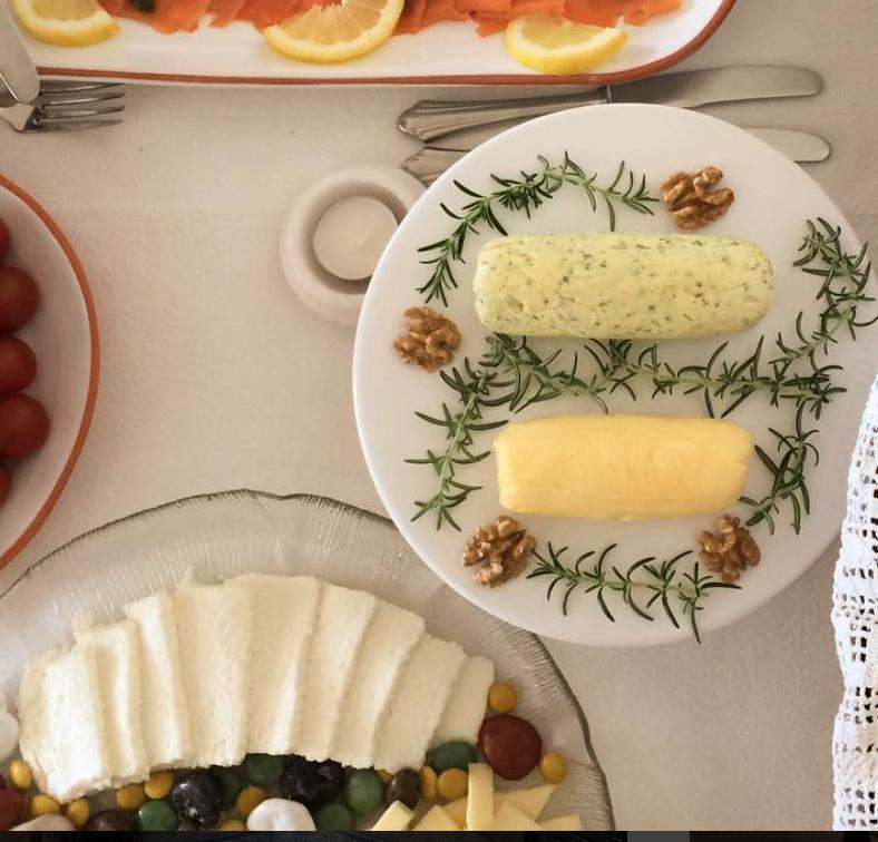 manteiga de ervas & manteiga de mel