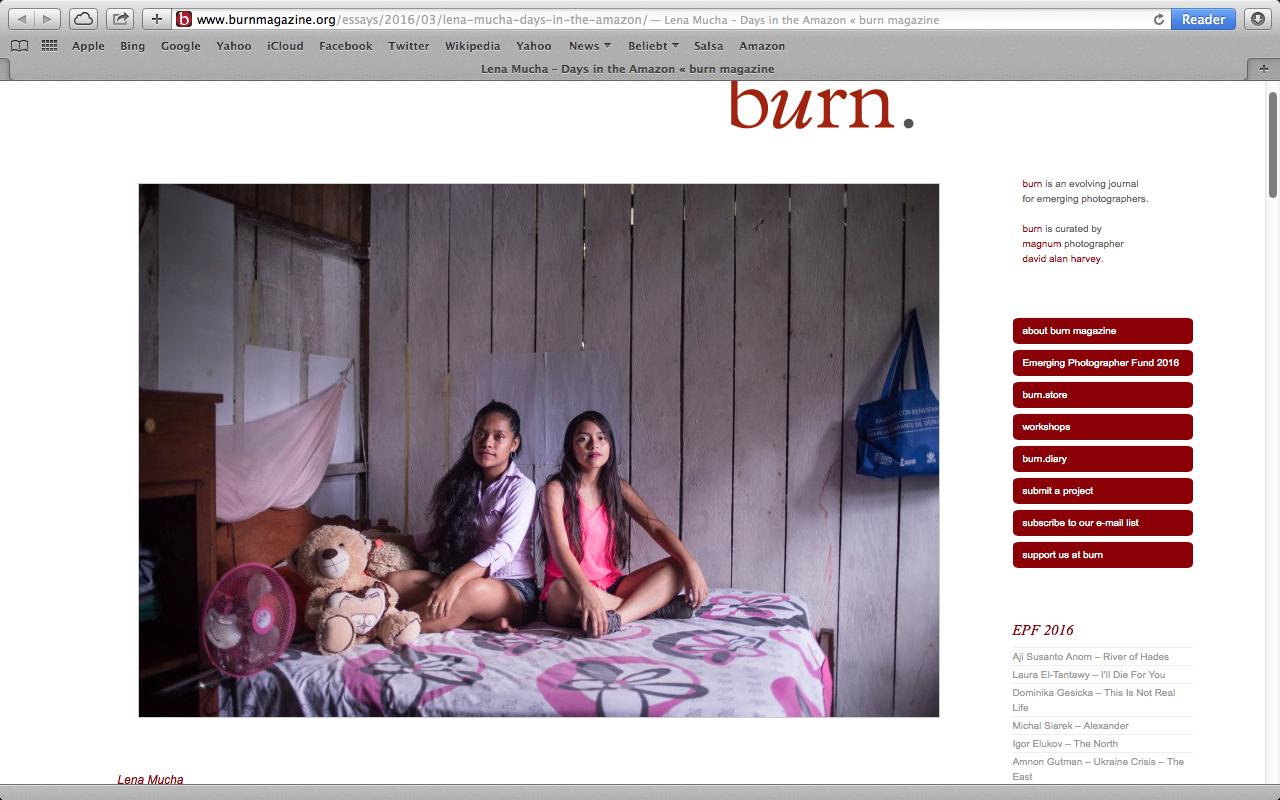 BURN Magazine, March 2016