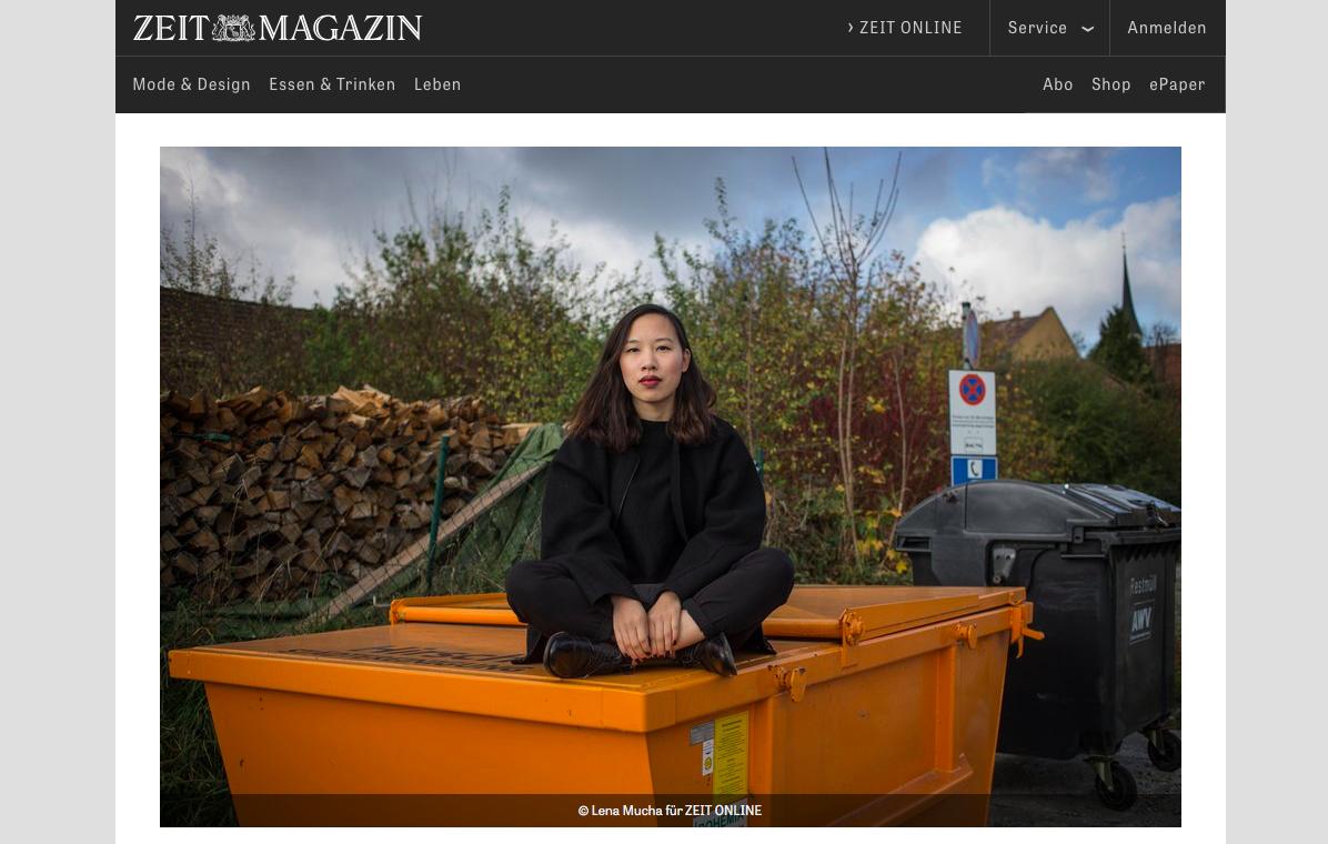 ZEIT Magazin Online, 27.11.2017