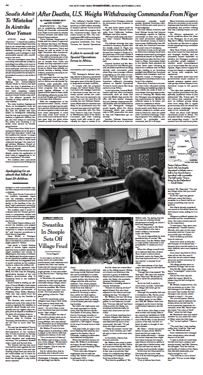 The New York Times, 02.09.2018