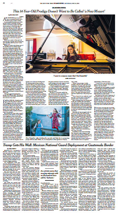 The New York Times, 15.06.2019