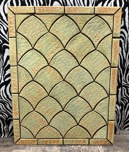Green Custom Tile Pattern