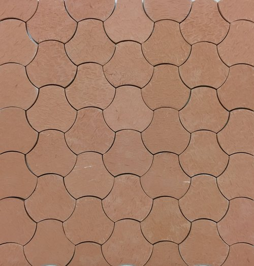 Concave Arc Handmade Tile