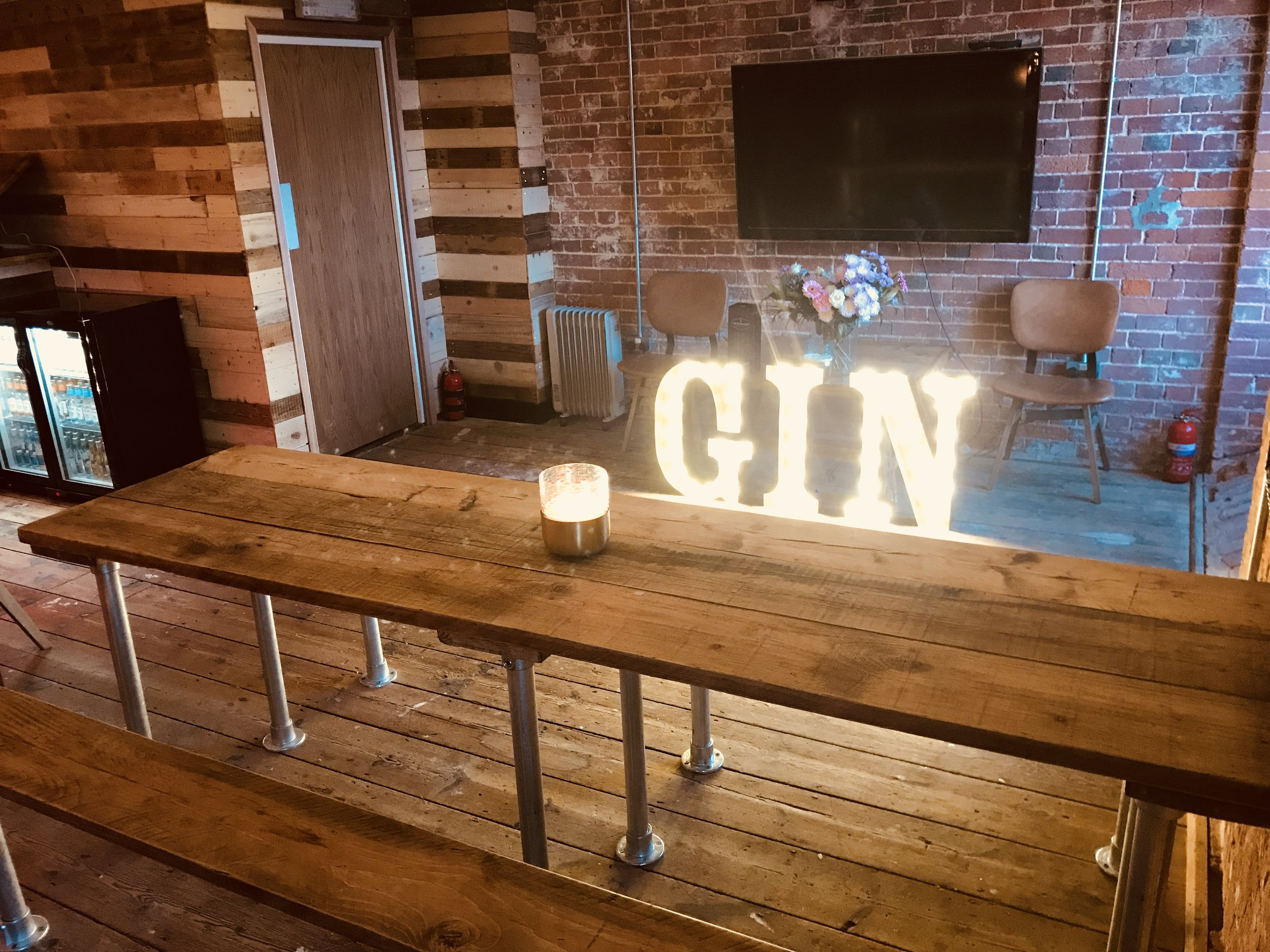 Gosport's best bar. The Gin Joint at The Victualler, Royal Clarence Marina, Gosport