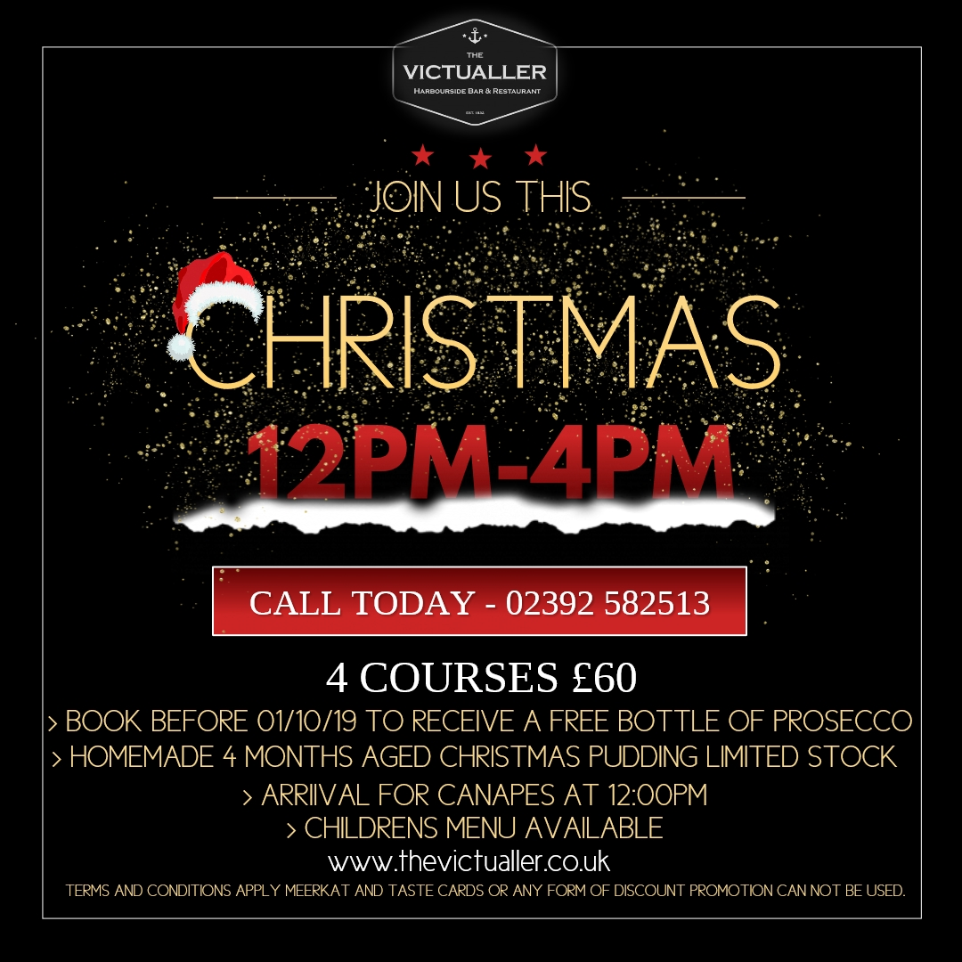Christmas At The Victualler - Have you made your reservation…
