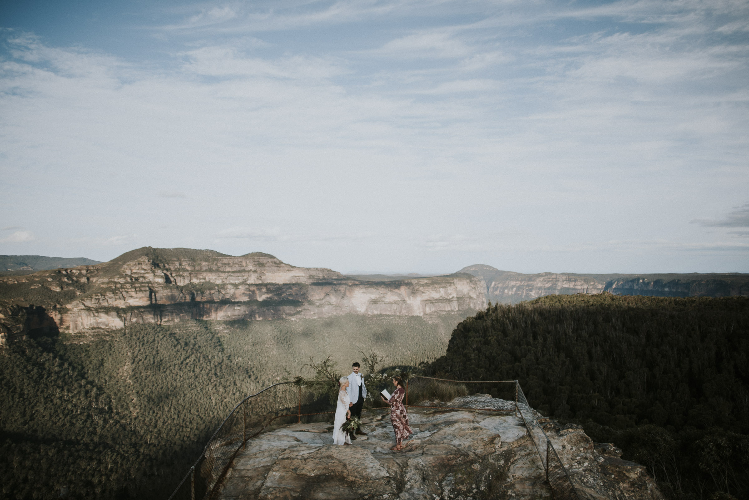 Blue Mountains Elopement