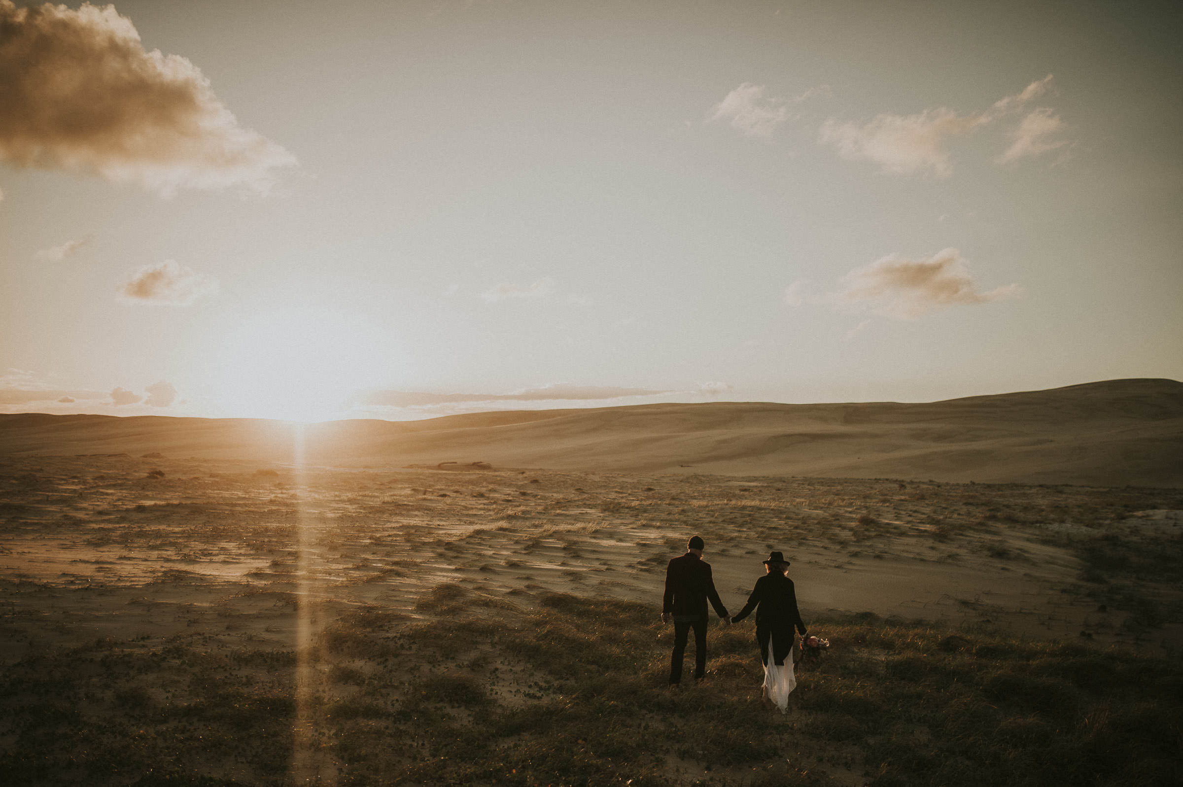 Stockton Dunes Elopement