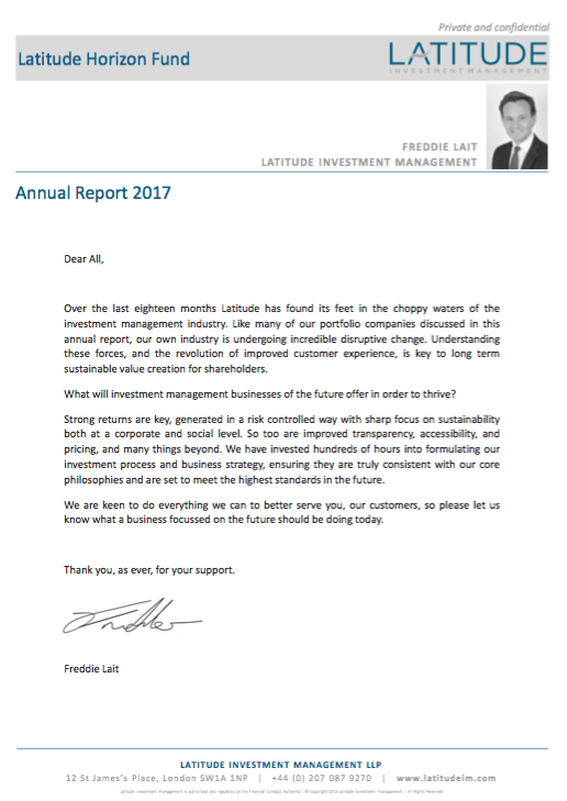 Latitude 2017 Annual Review