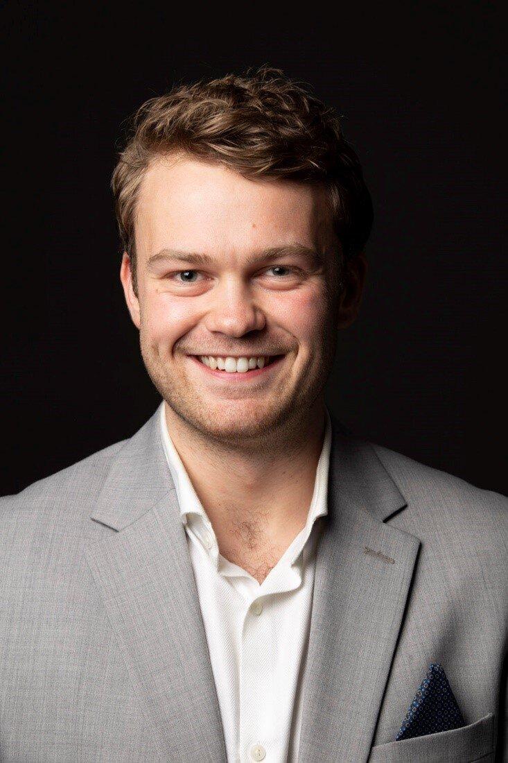 Godt fornøyd: Jensen smiler bredt for faghøyskole og mulighet for prøveordning.