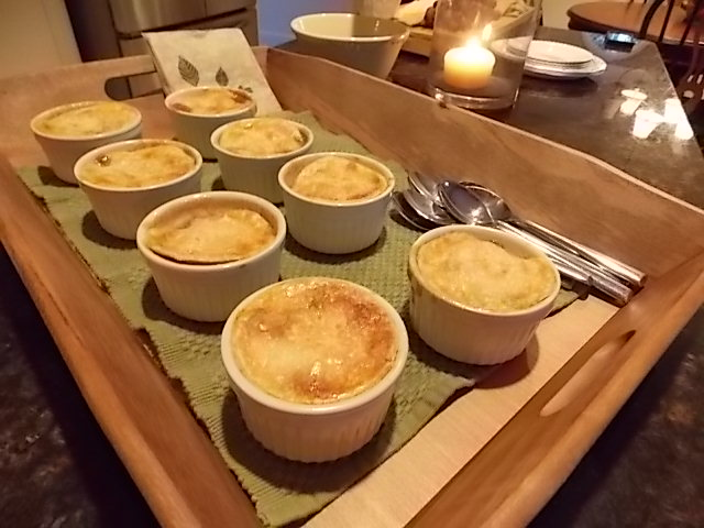 The mini apple pies were placed on a tray to make transportation to the fire pit a lot easier and heck, once again, presentation for me is key when hosting a gathering.