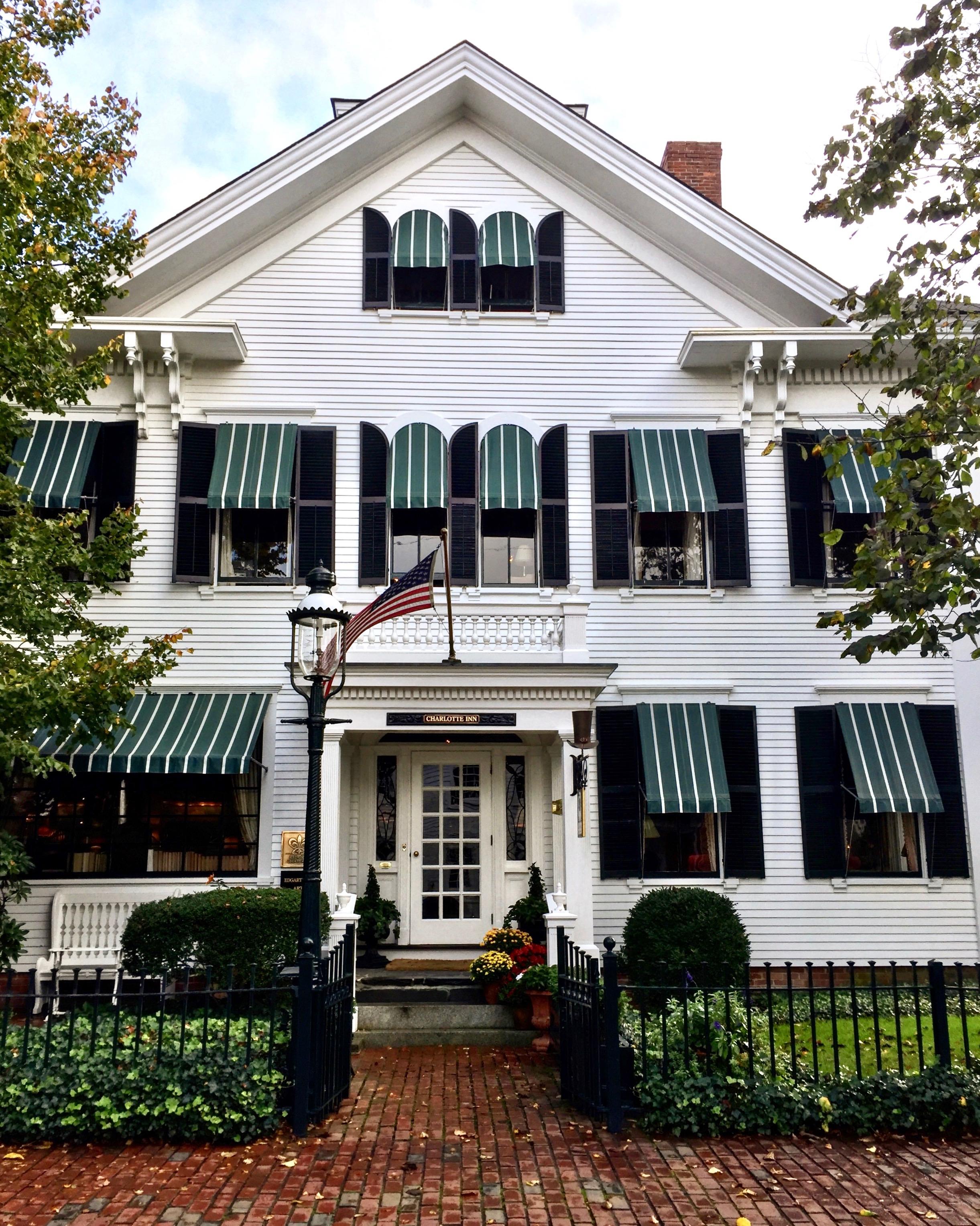 The Charlotte Inn - Photo Linda Davis