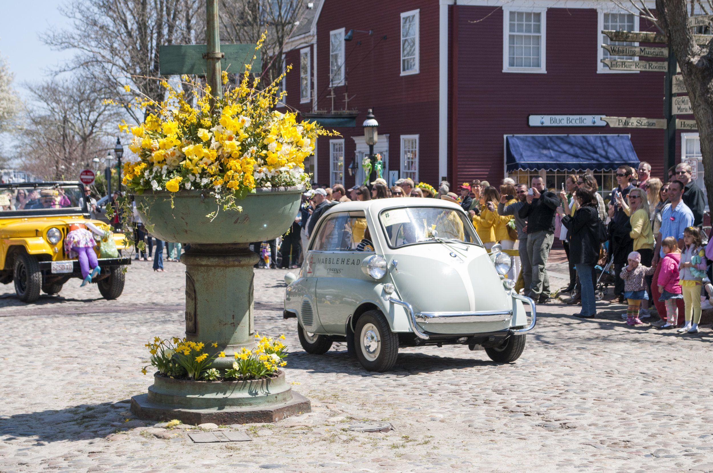The Nantucket Daffodil Festival - Photo Brian Sager
