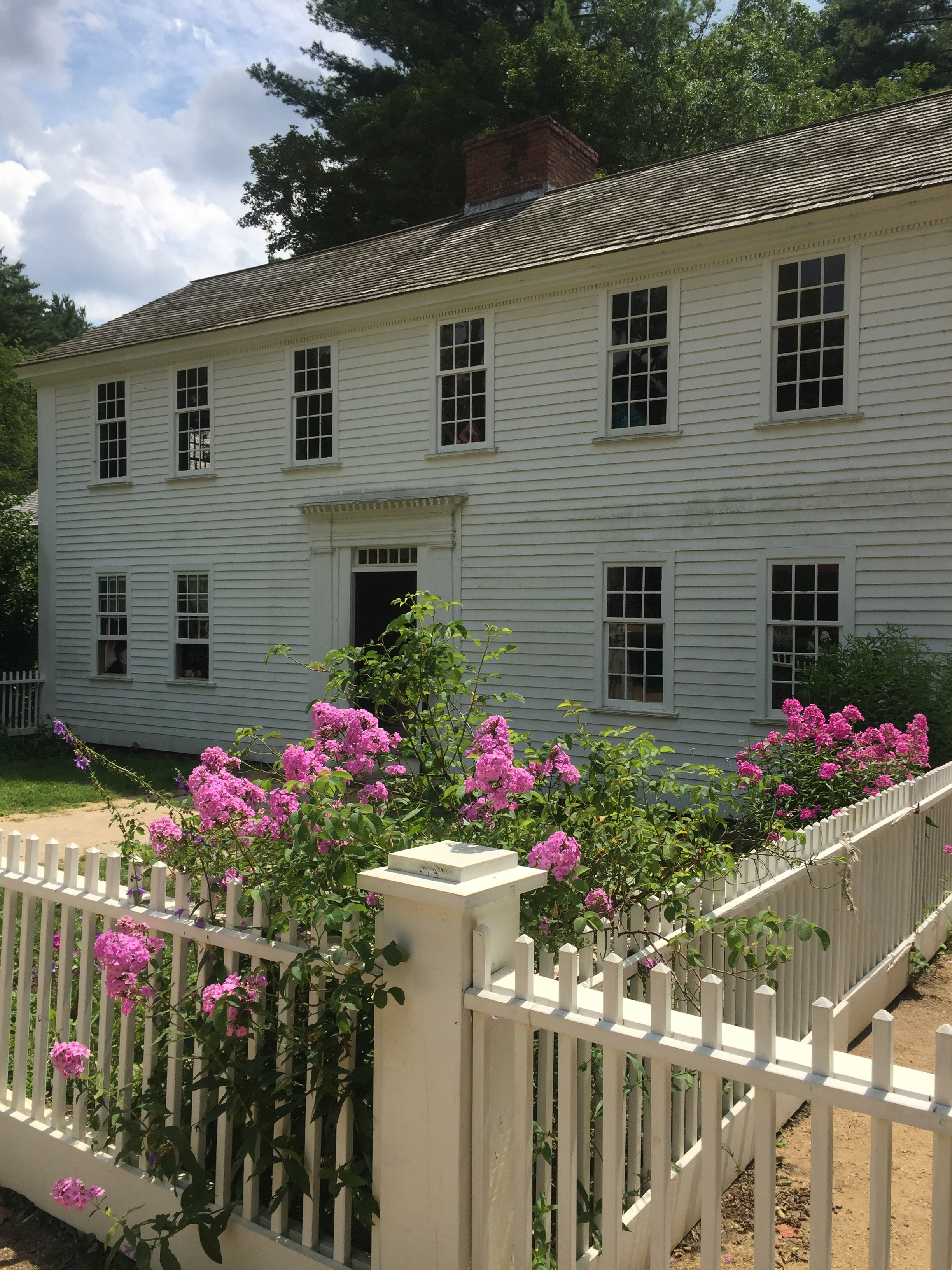 One of the many beautiful homes at Old Sturbridge Village