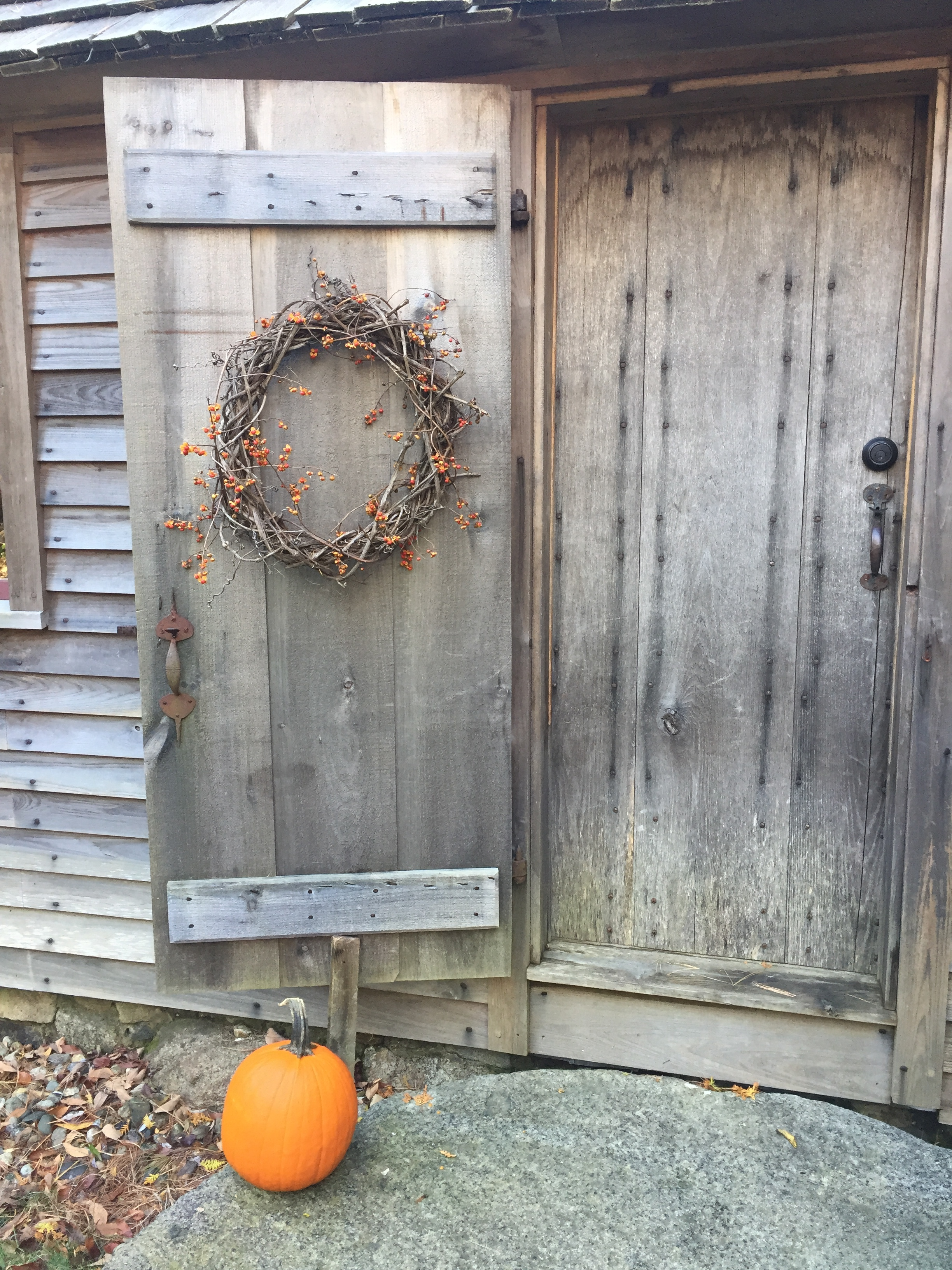 Fall Country Living Door