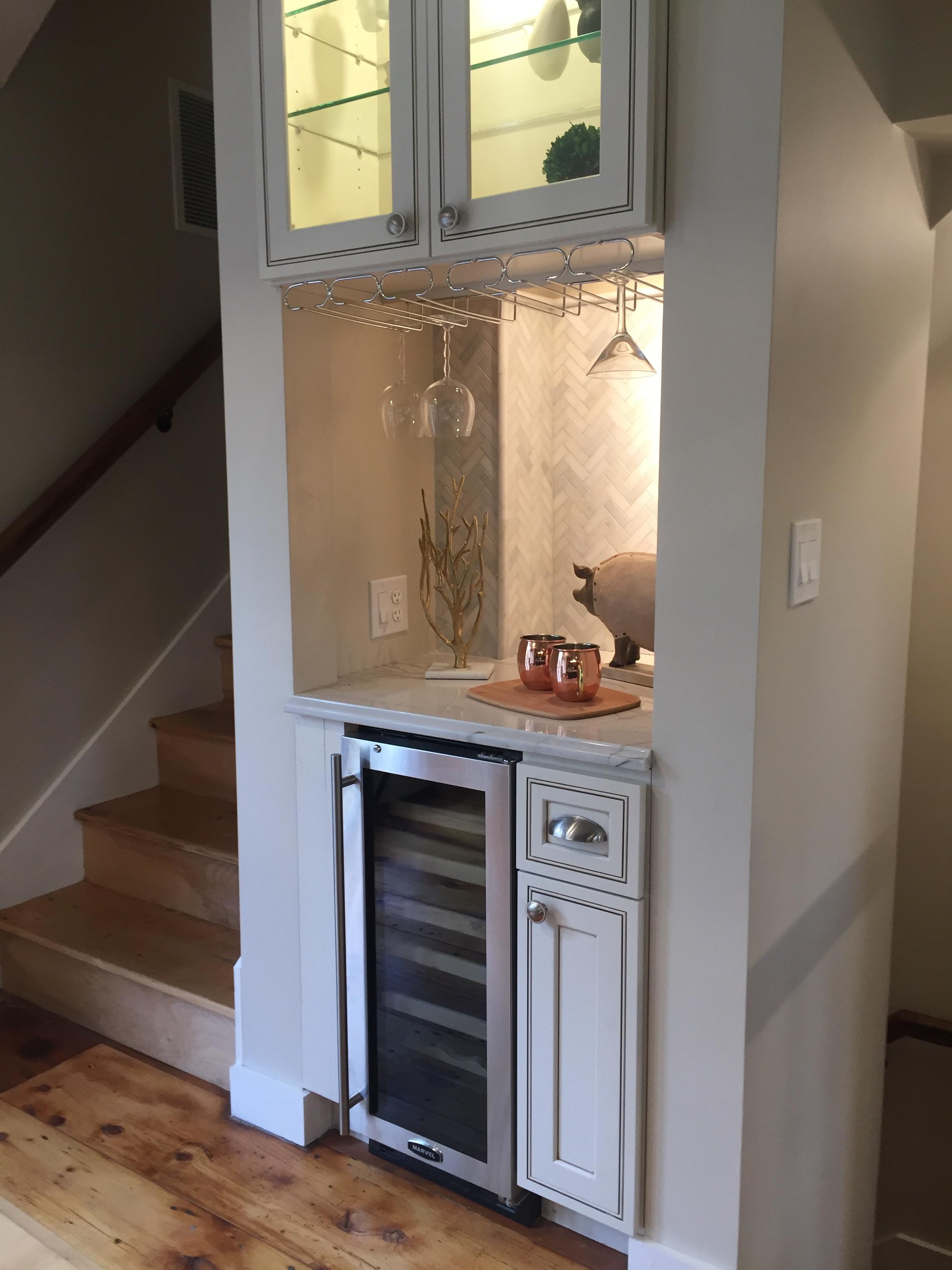 New England Entertaining wine fridge