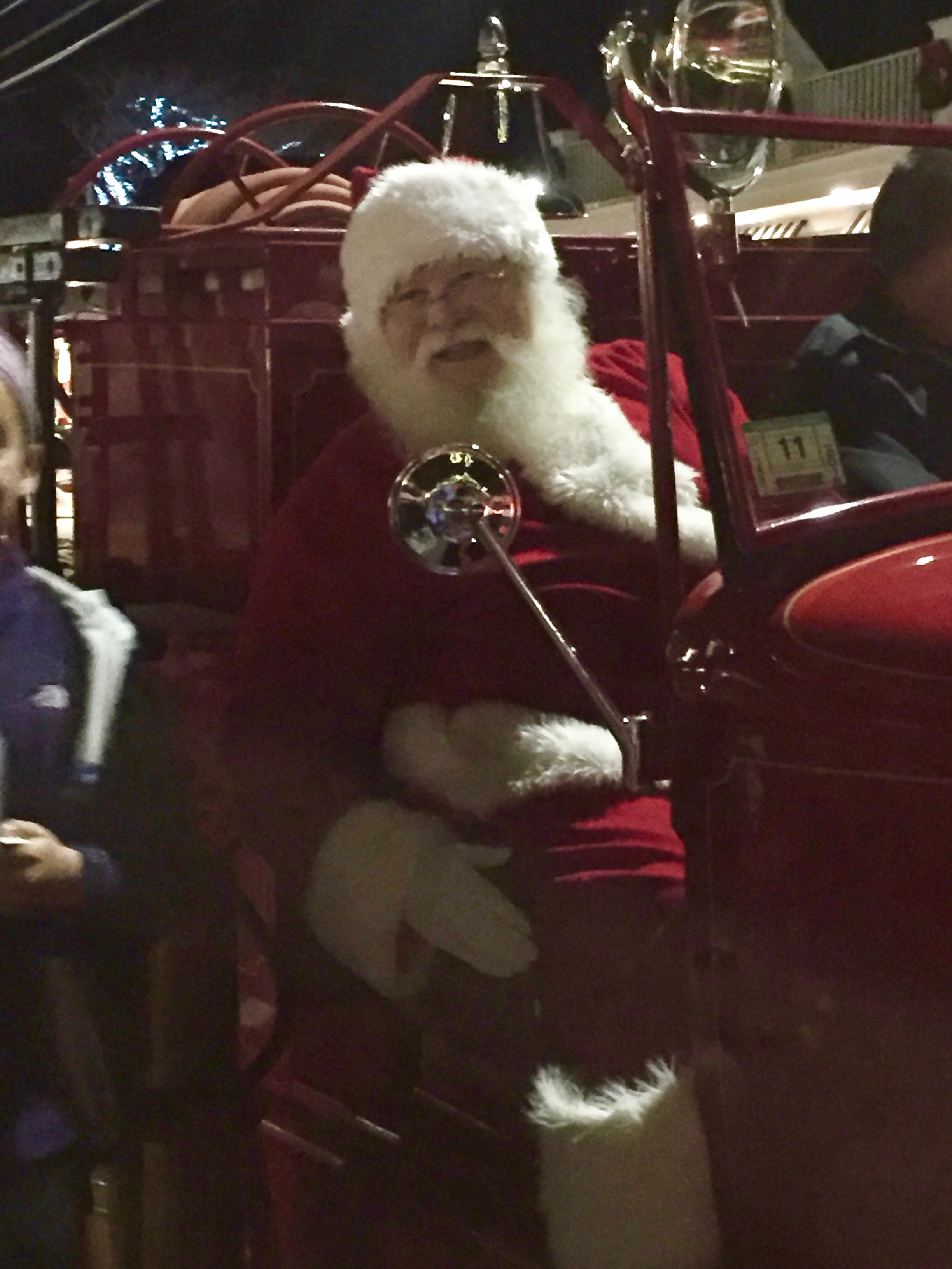 We even got a quick glimpse of Santa Claus!