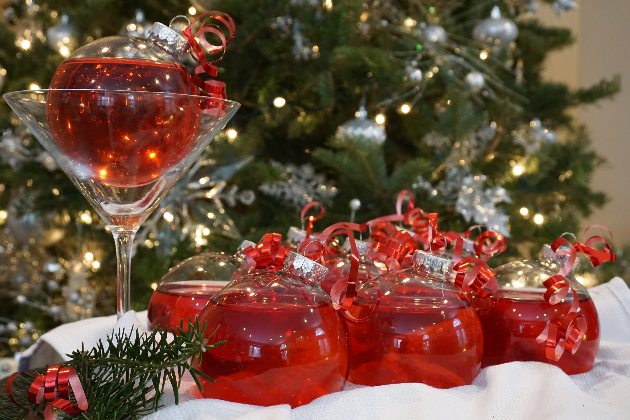 Only use plastic for your guests! Not only is it safer than glass, but they can easily be taken home as gifts.