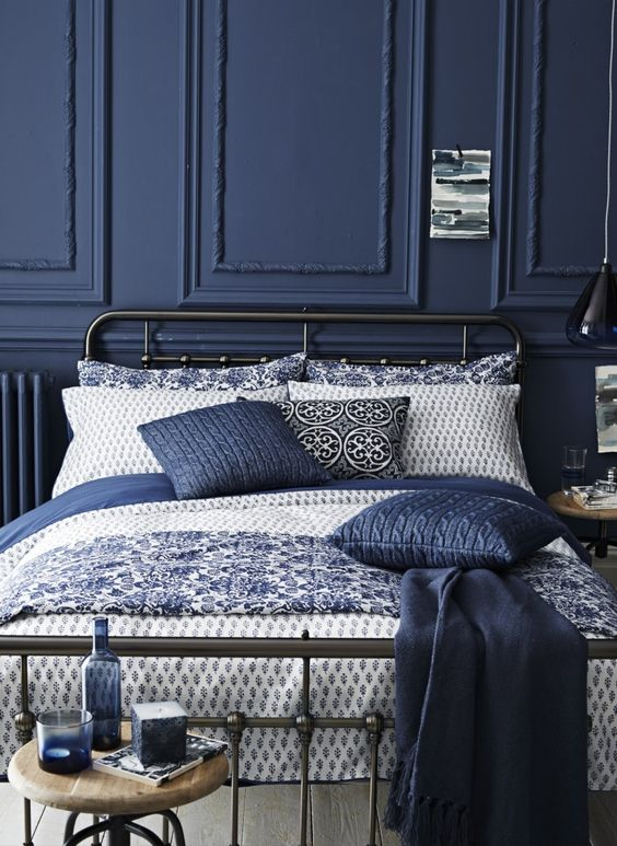 Indigo blue and white bedroom .jpg