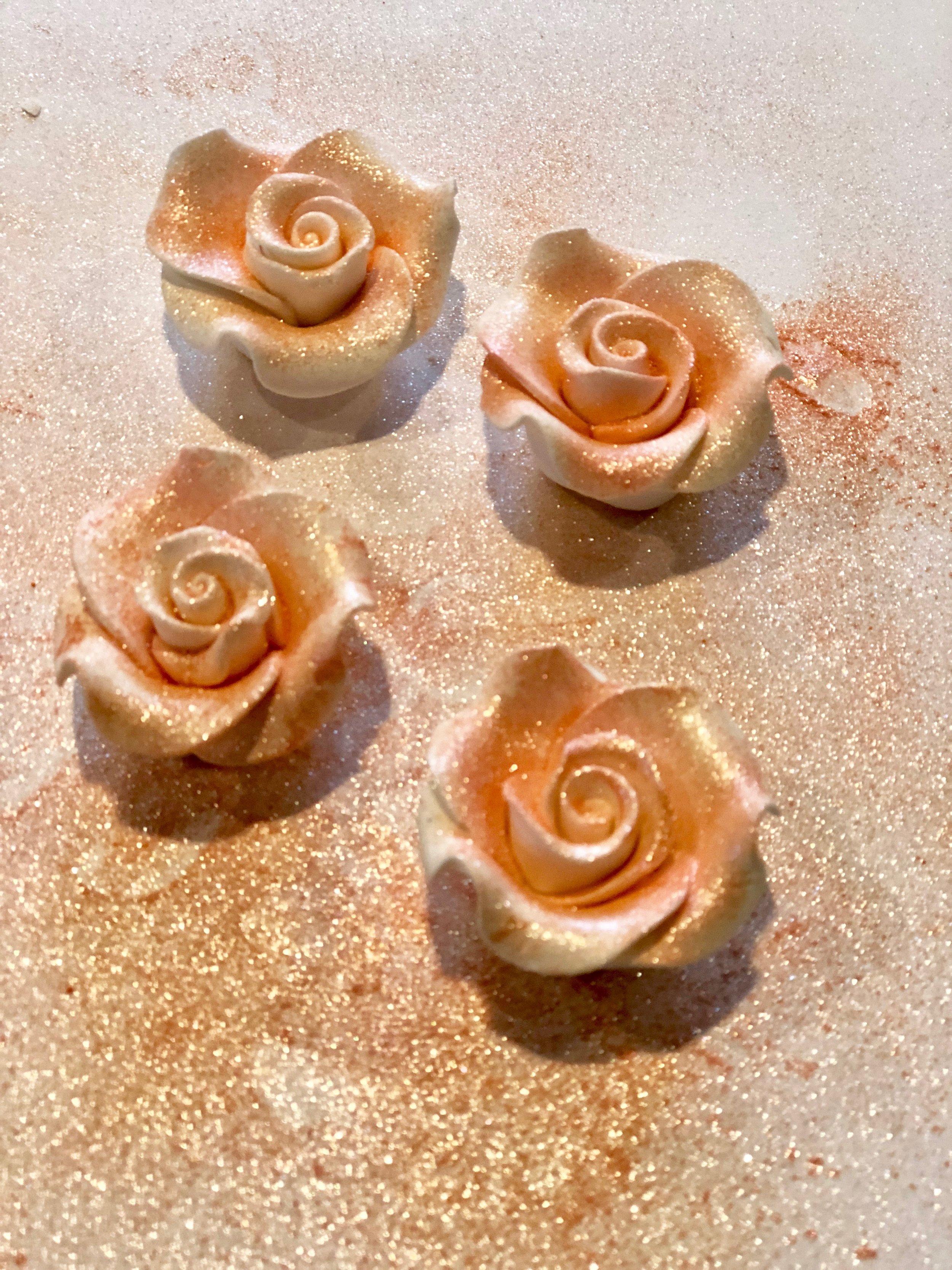 wilton rose gold dust on icing flowers.jpg
