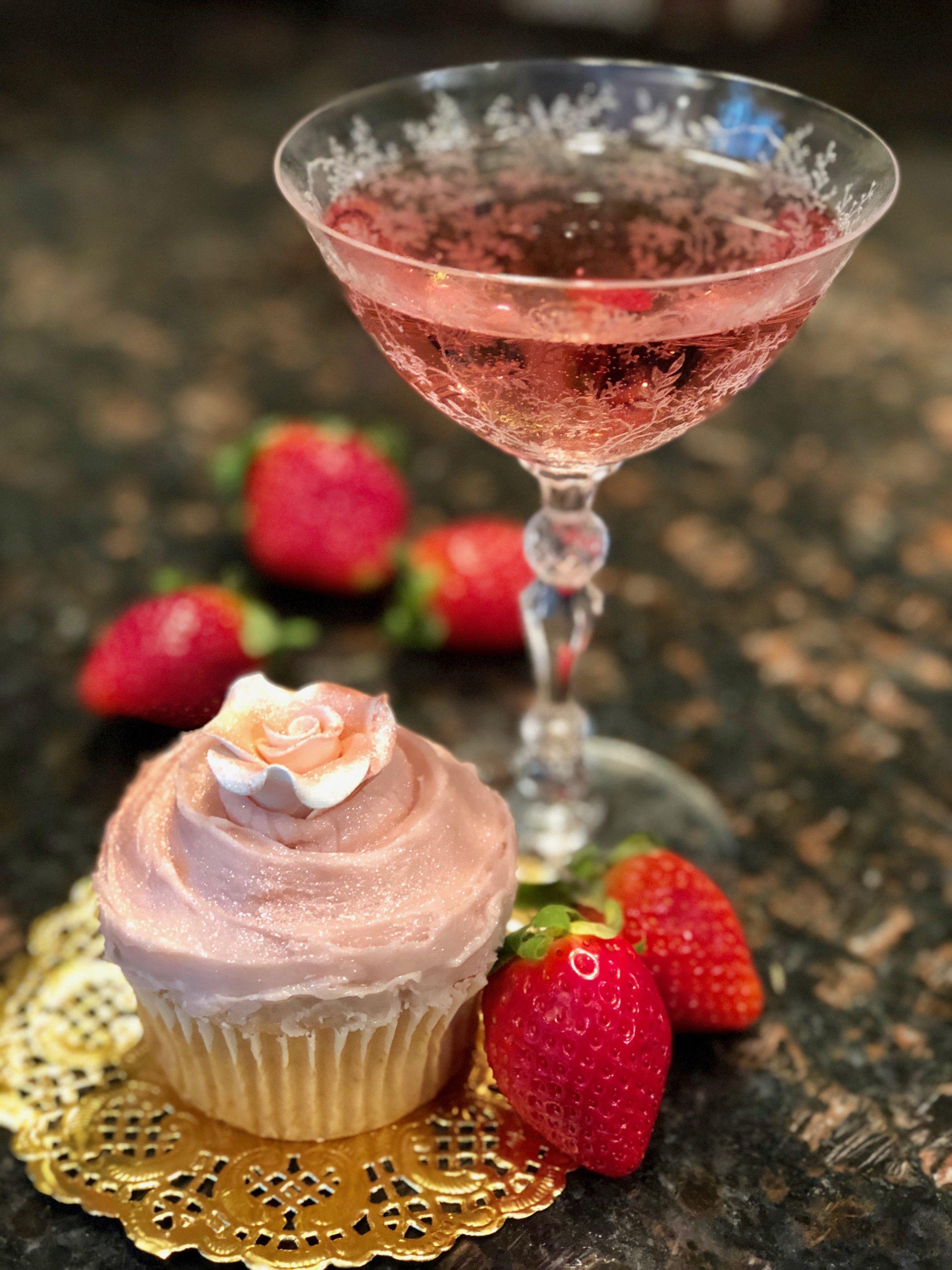 Champagne cupcake recipe and pink Champagne .jpg