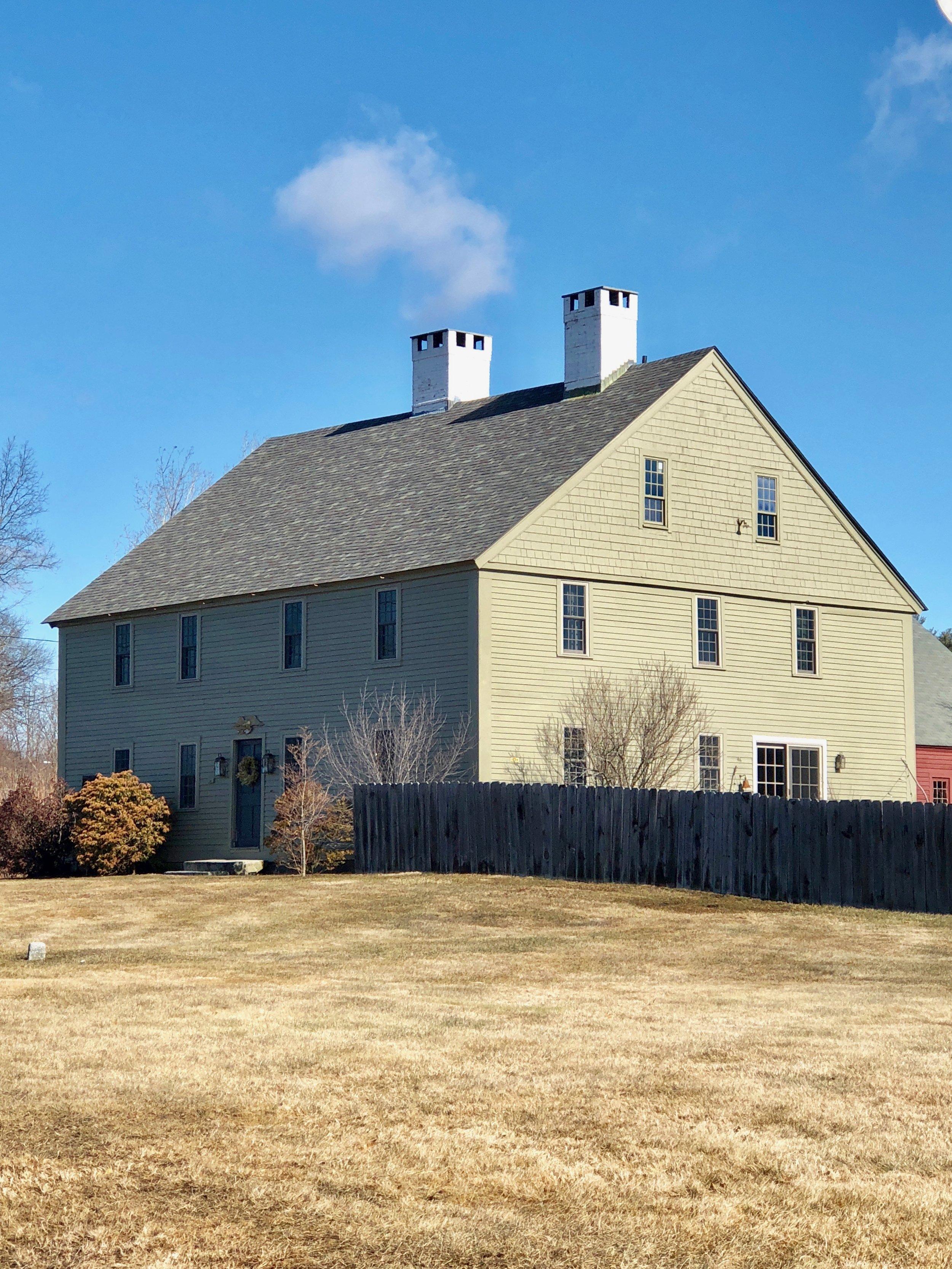 josiah wilder house circa 1729 historic new england home