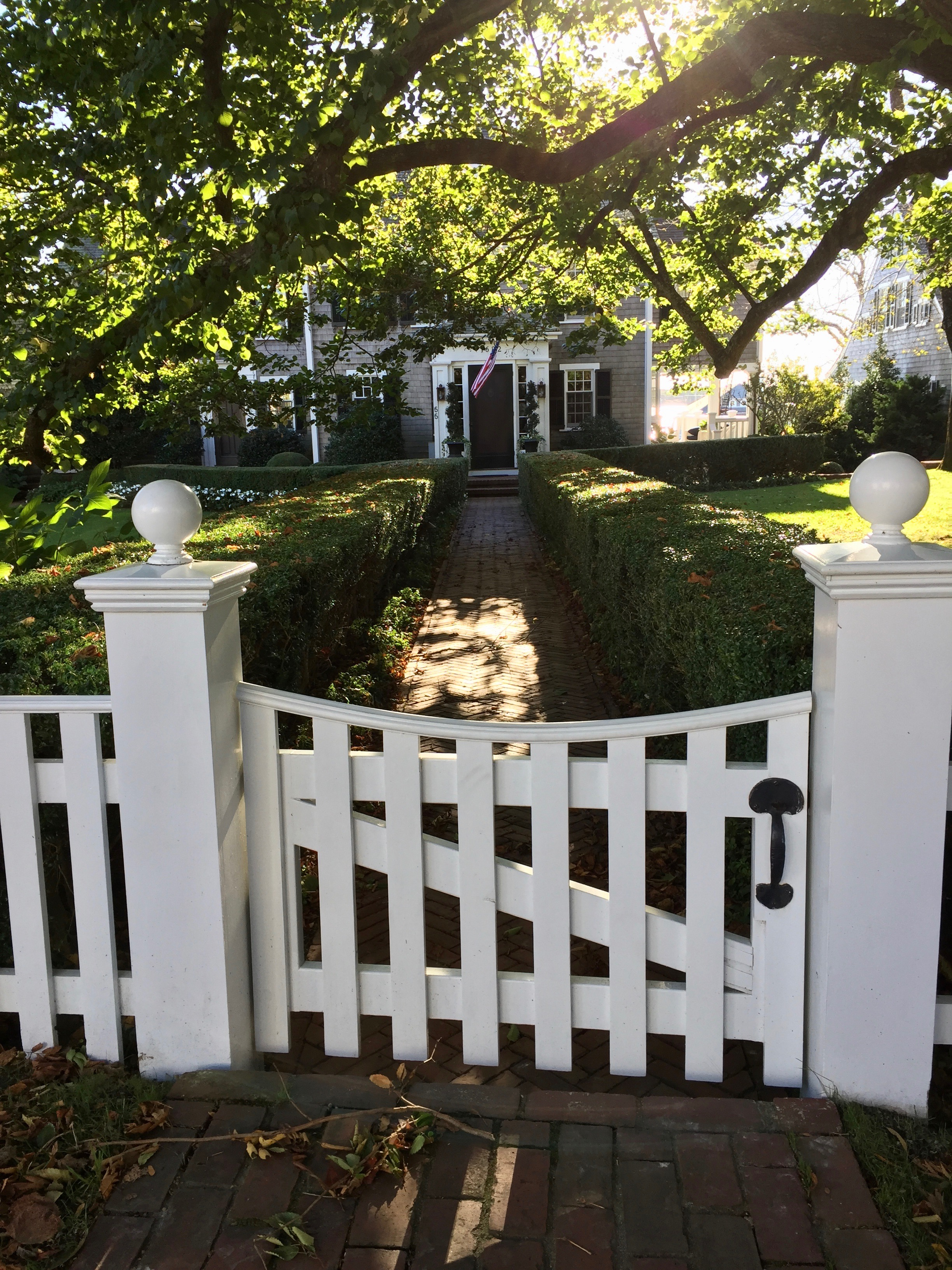 John Coffin House Front Gate walkway New England Fine Living .jpg
