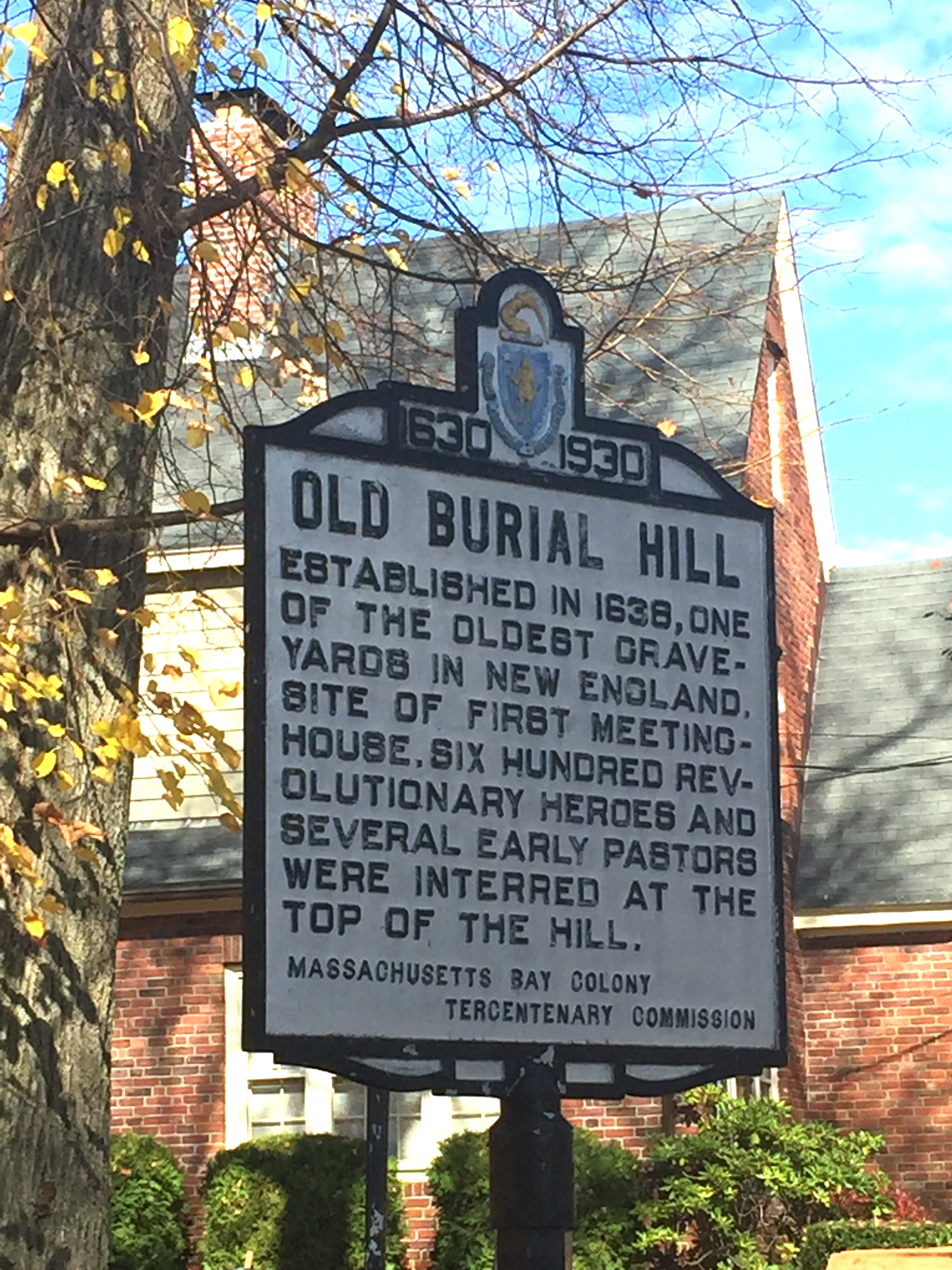 Old Burial Hill in Marblehead, MA has been used in several movie shoots including Hocus Pocus and The Good Son. Photo New England Fine Living