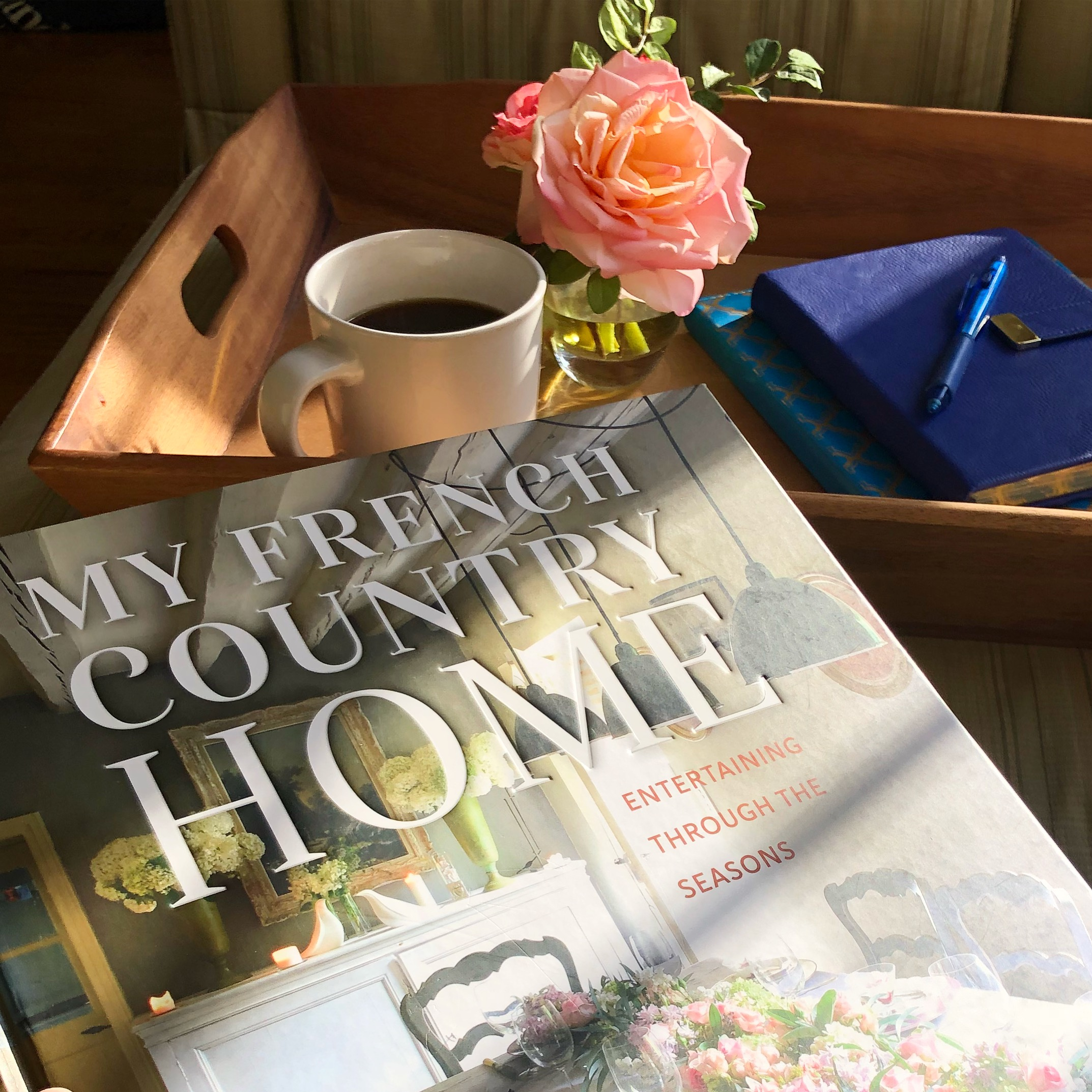 Entertaining book my French Country Home