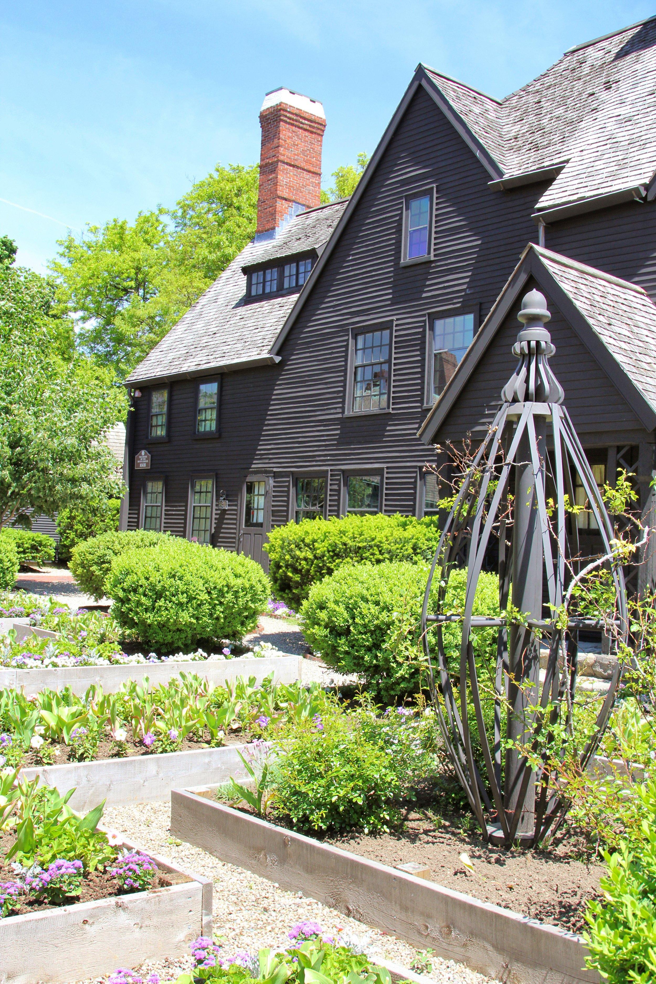 The House of Seven Gabels Salem Massachusetts