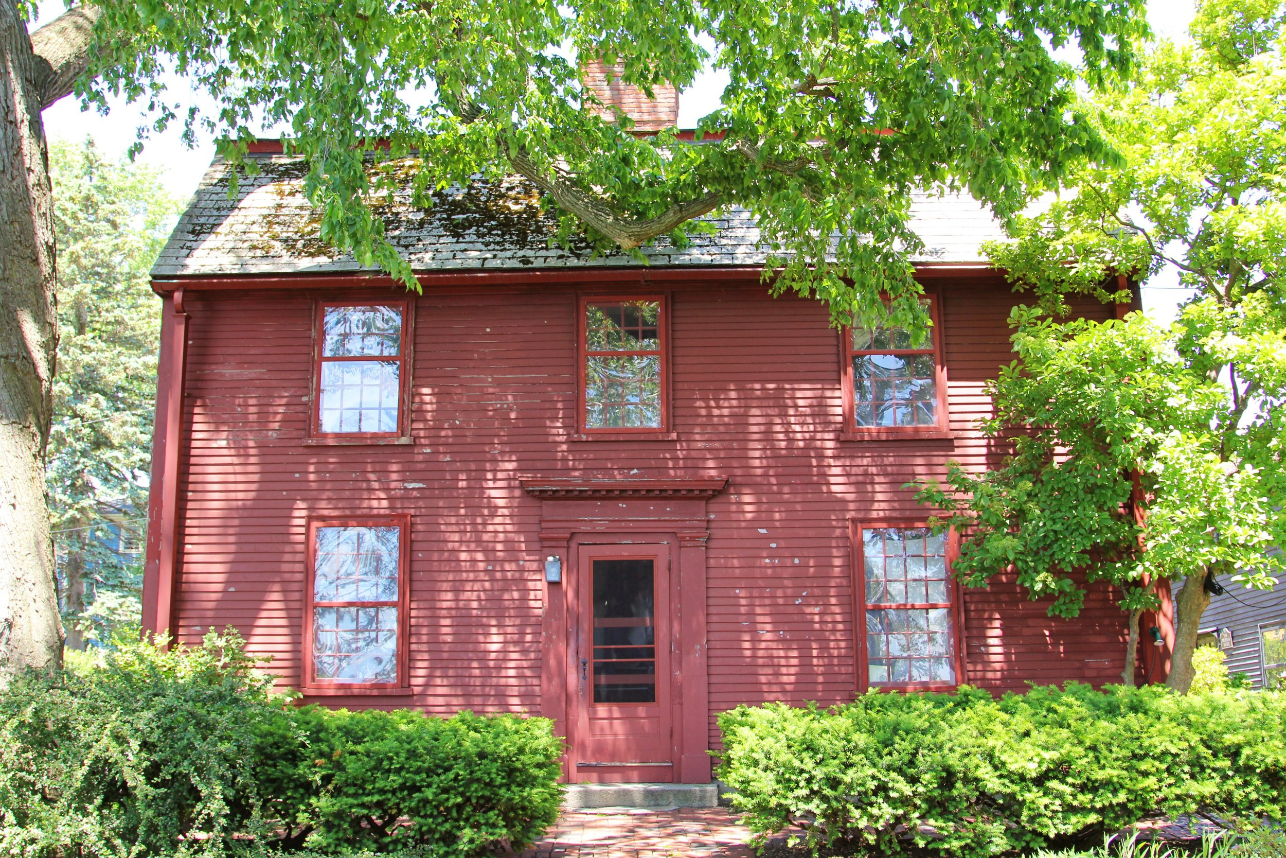 Nathaniel Hawthorne's Birthplace, A historic colonial in Salem, Massachusetts - photo supplied by The House of Seven Gables