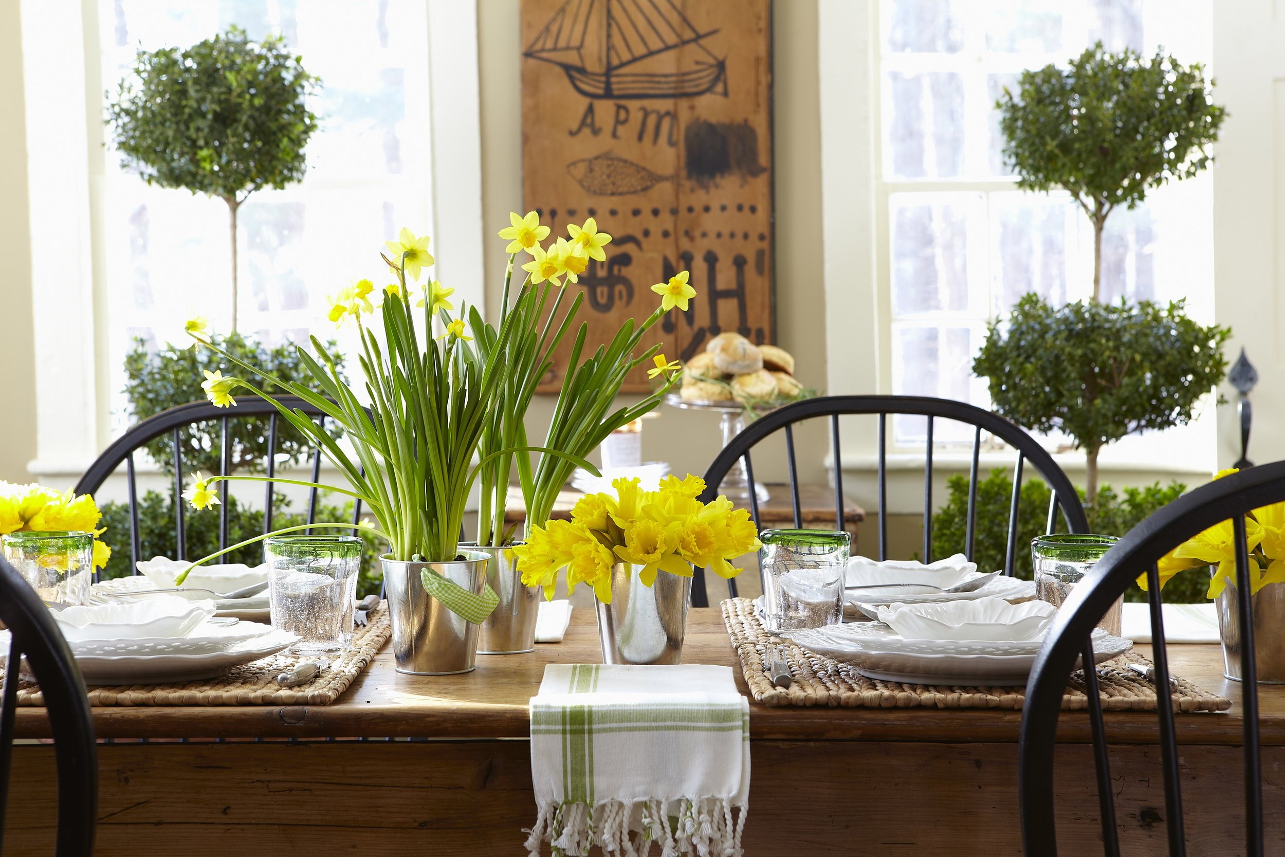 Daffodil Farmhouse Brunch
