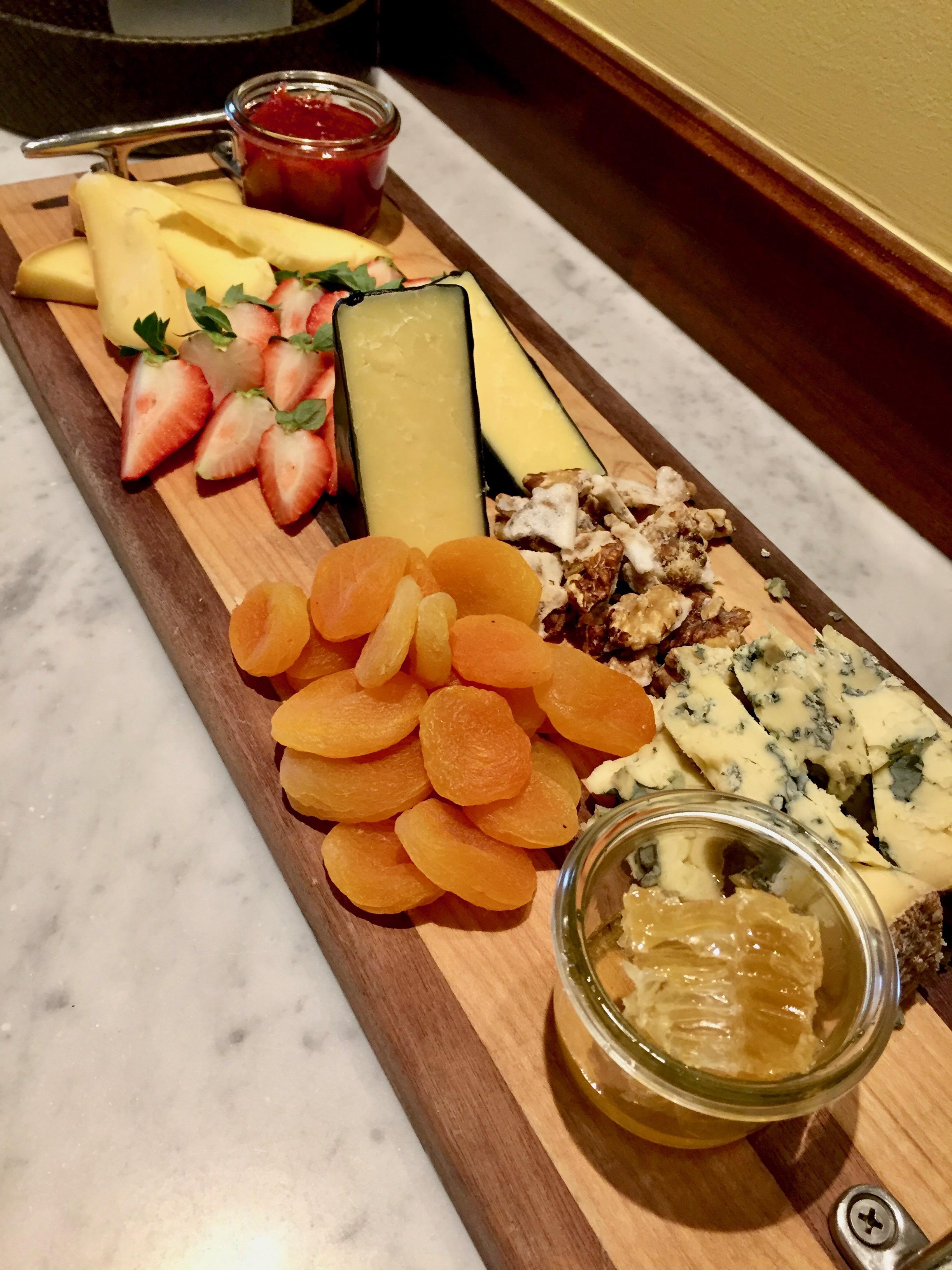 cheese and fruit board ocean house rhode island