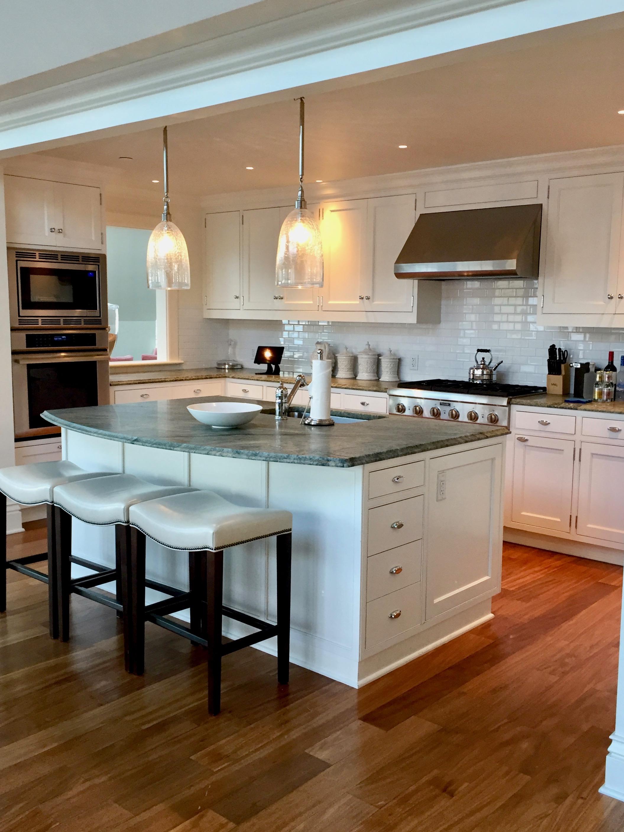 kitchen in hotel suite ocean house watch hill