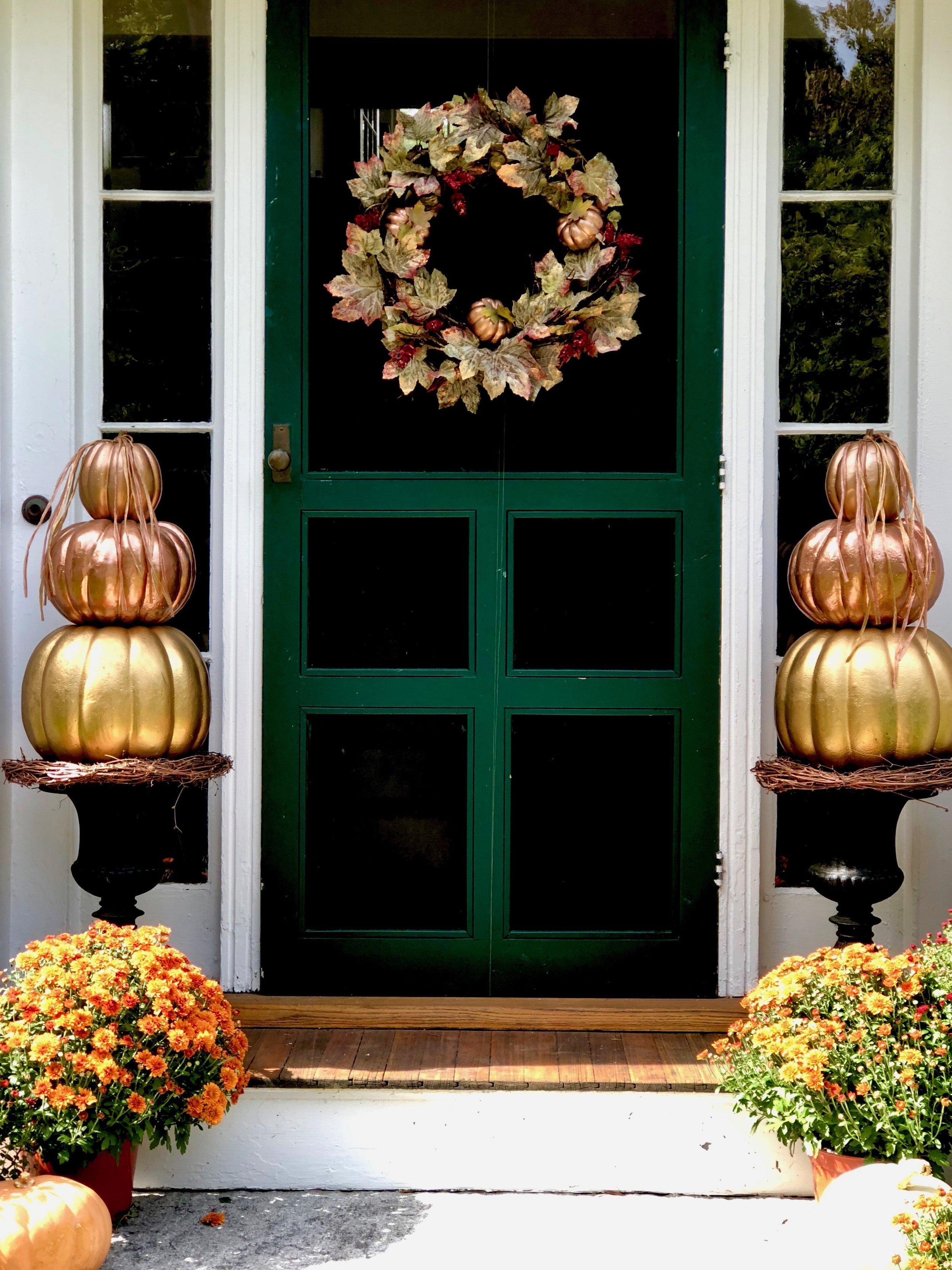 pumpkin topiearies and fall wreath.jpg