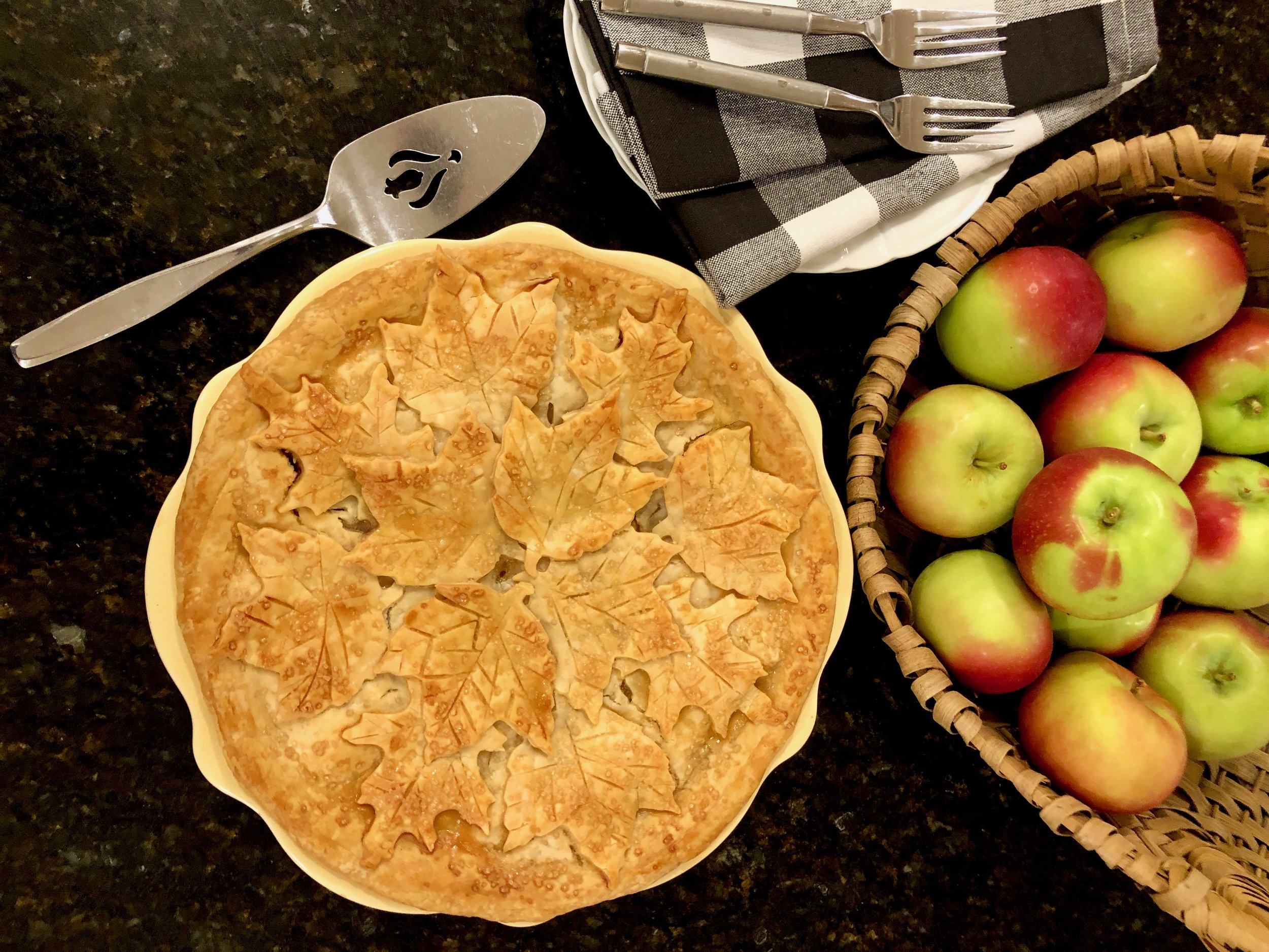 Apple pie flatly