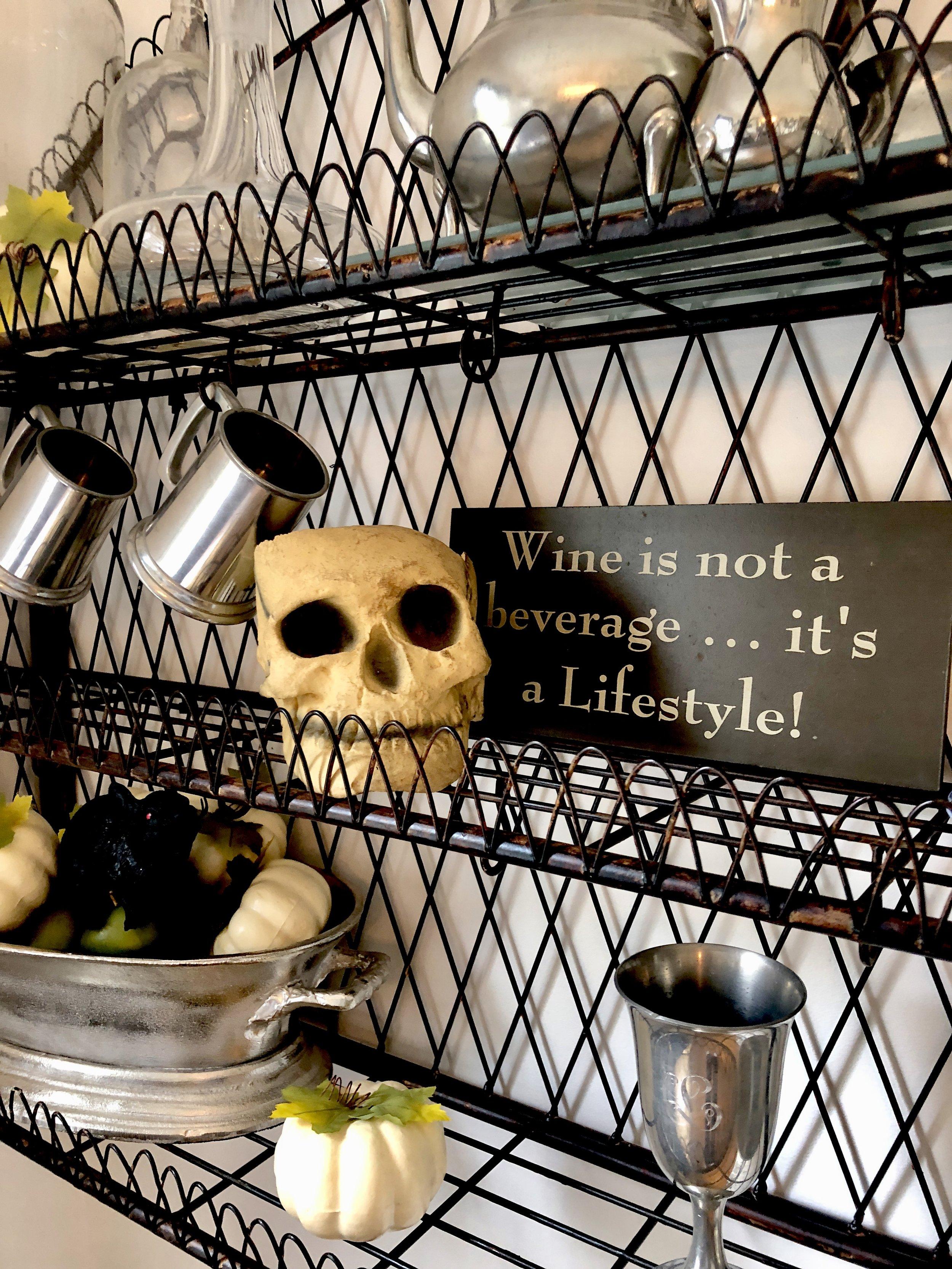 Tavern Halloween Decor
