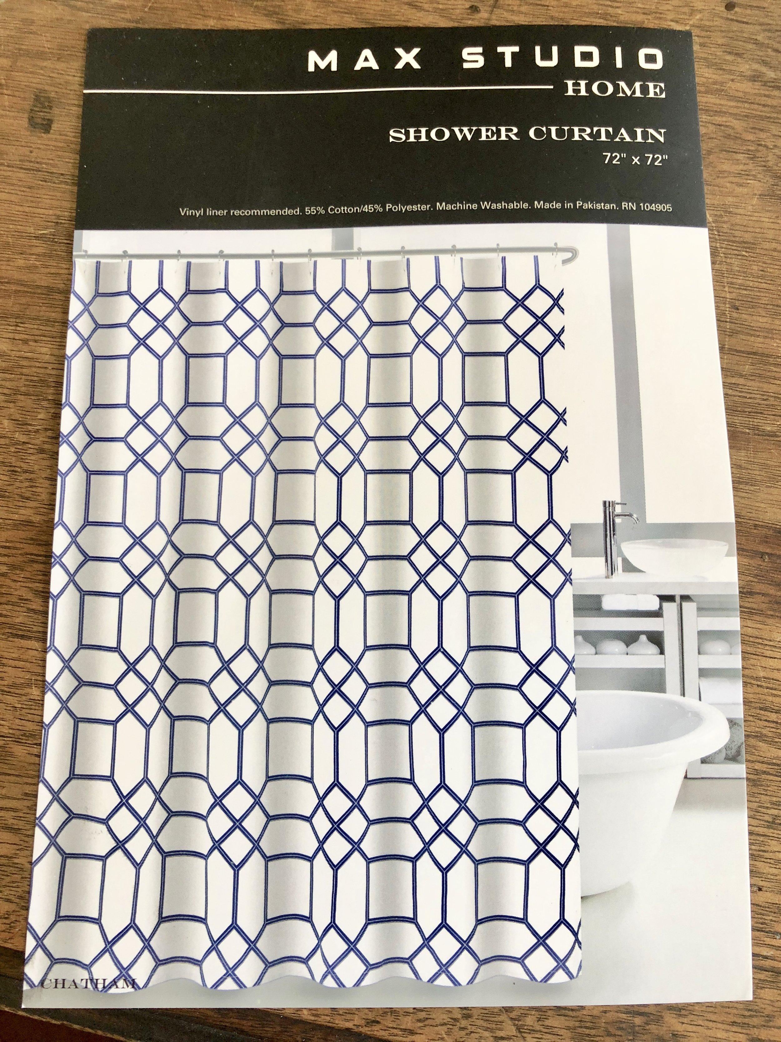 Max Studio Shower Curtain - Chatham