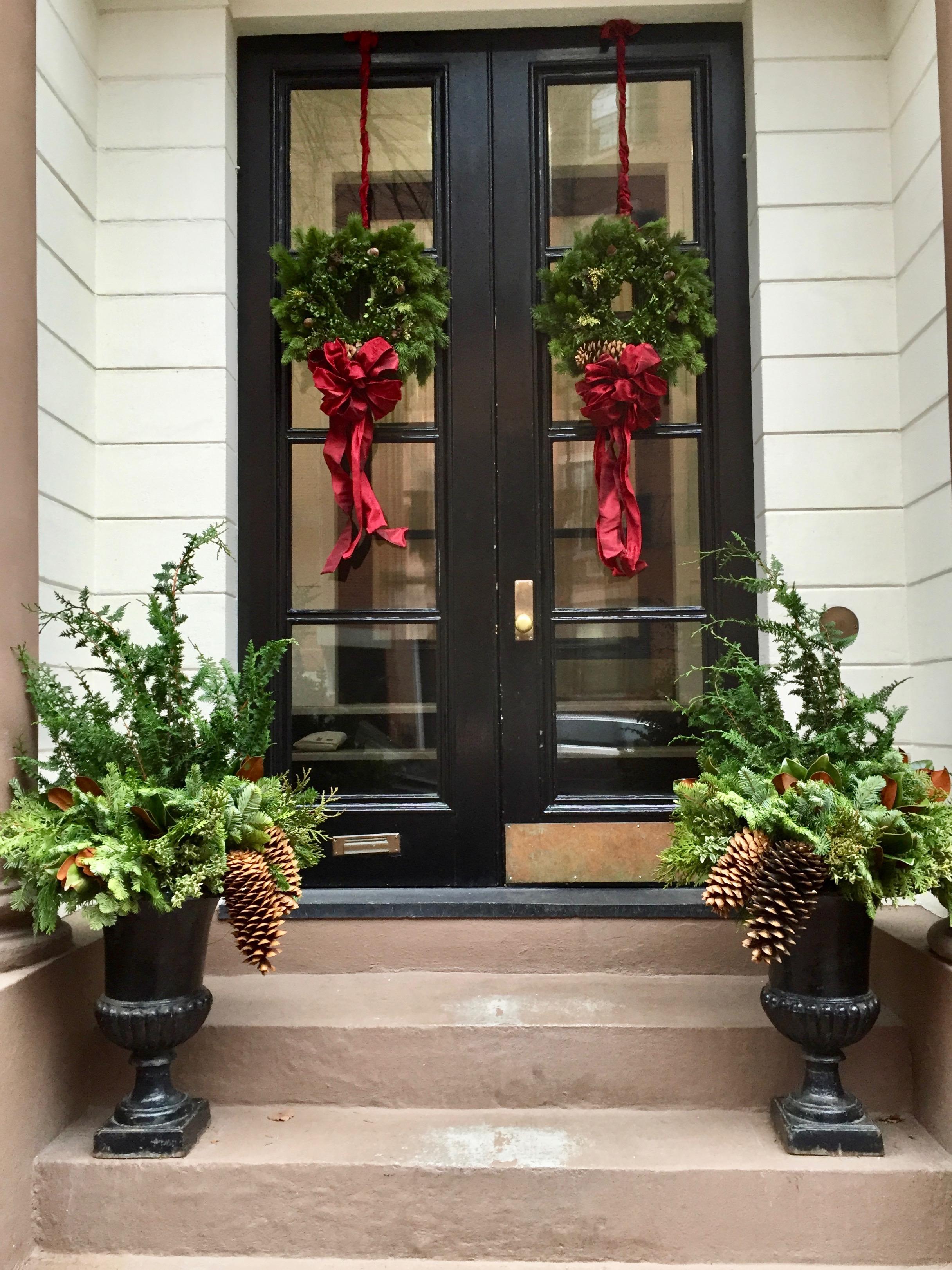 Beacon Hill Christmas Door Boston MA New England.jpg