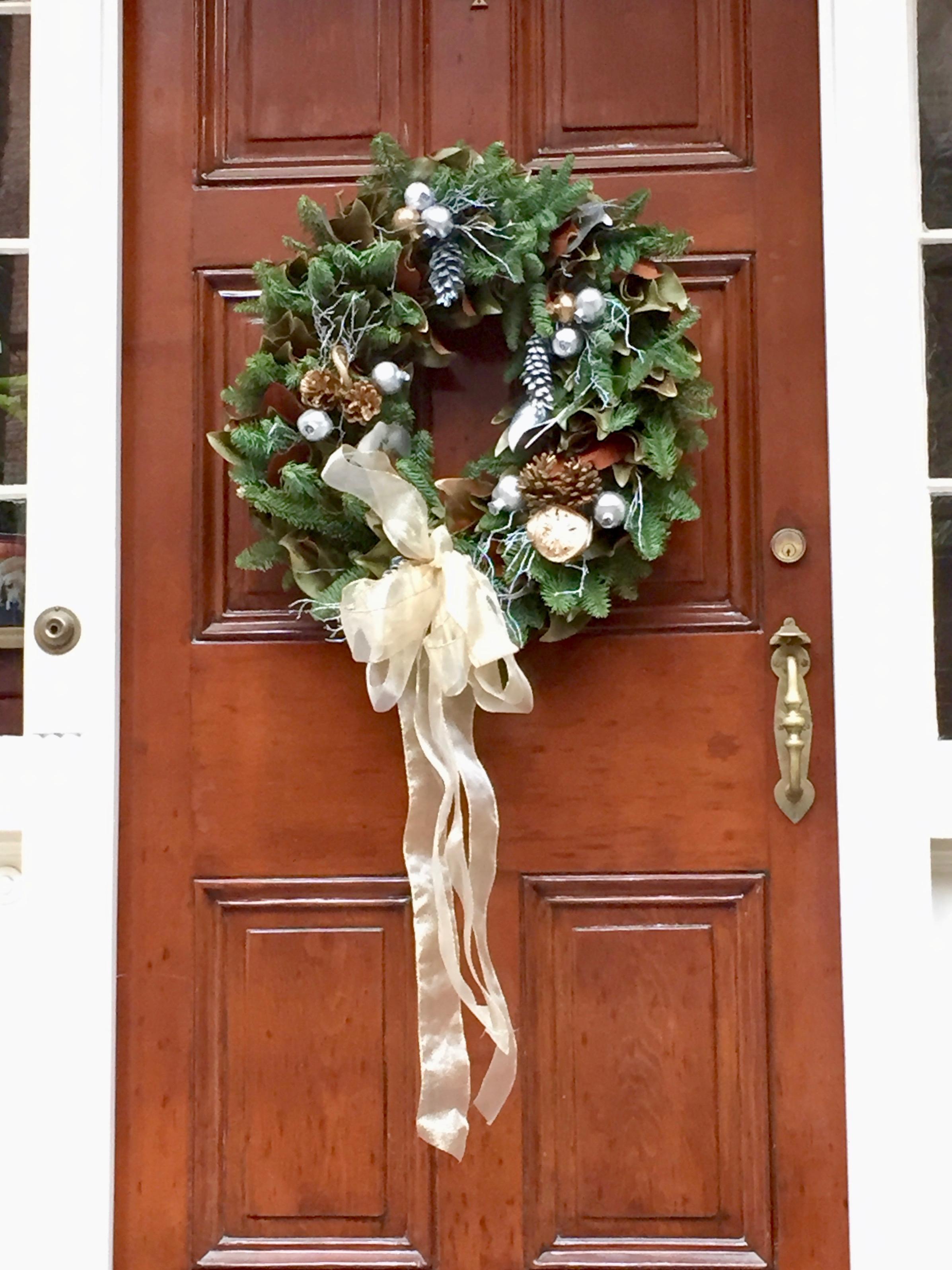 Christmas Wreath New England Beacon Hill Boston.jpg
