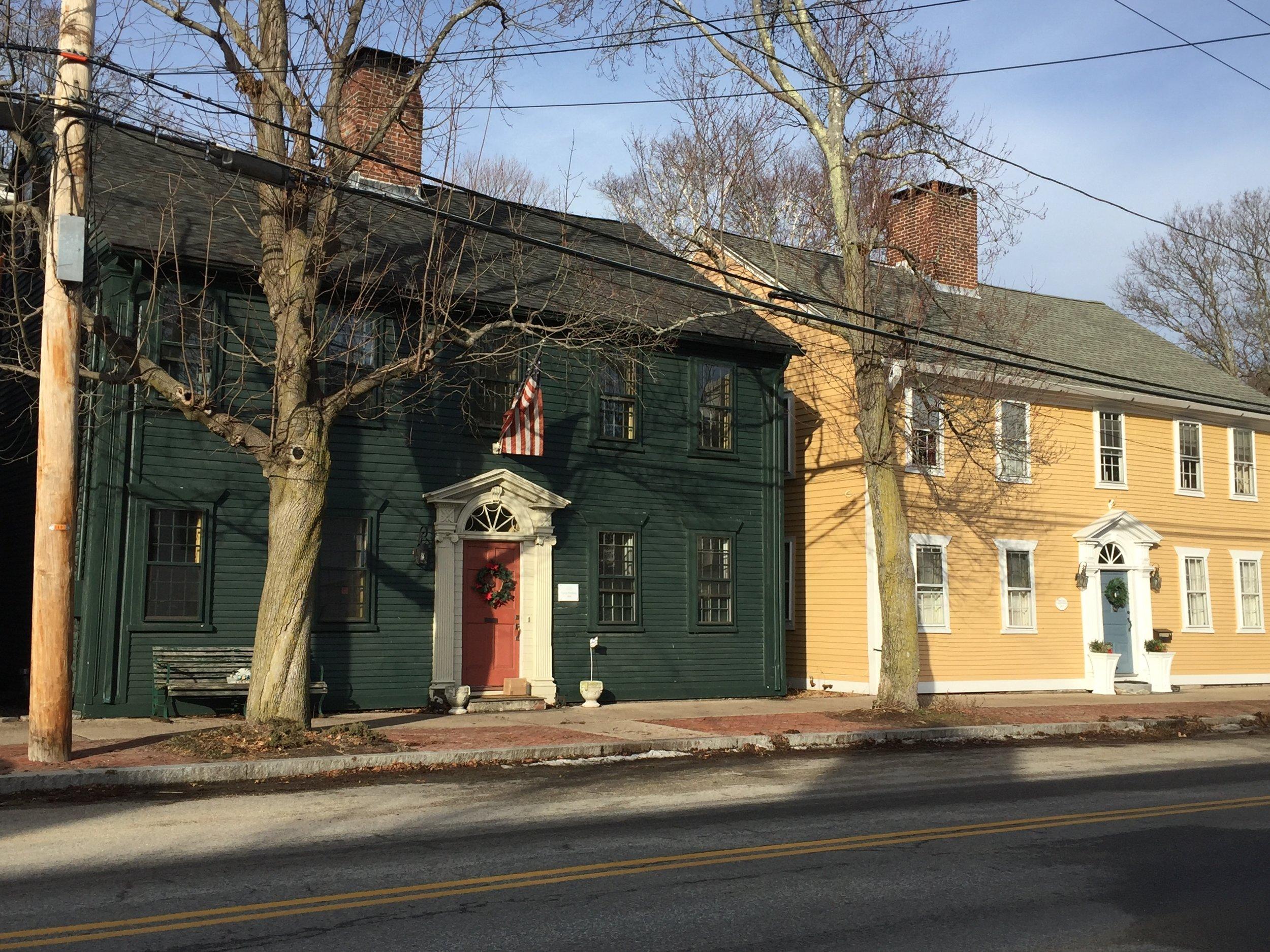 Wickford Rhode Island antique homes