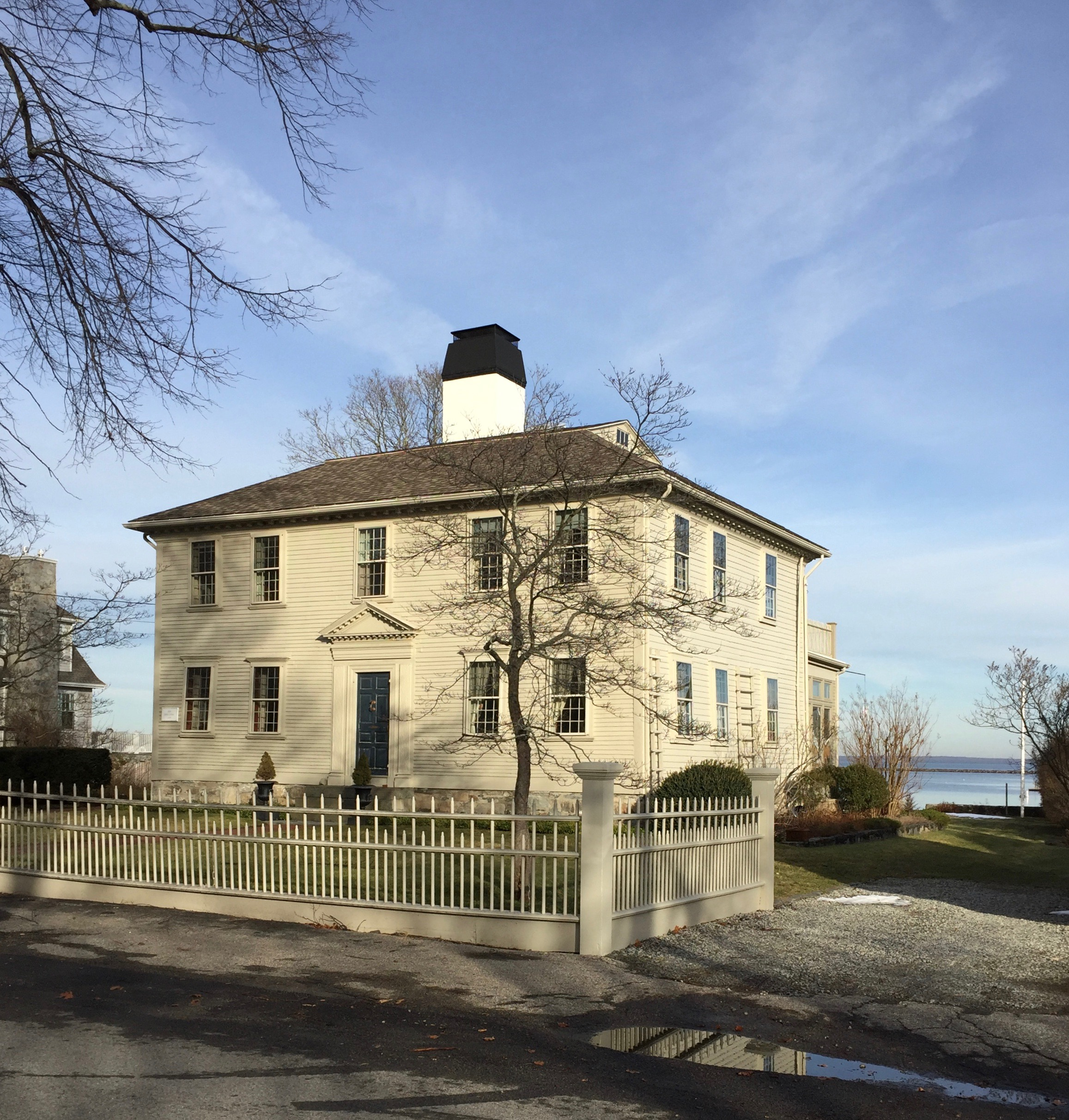 Wickford Rhode Island Antique home on the water