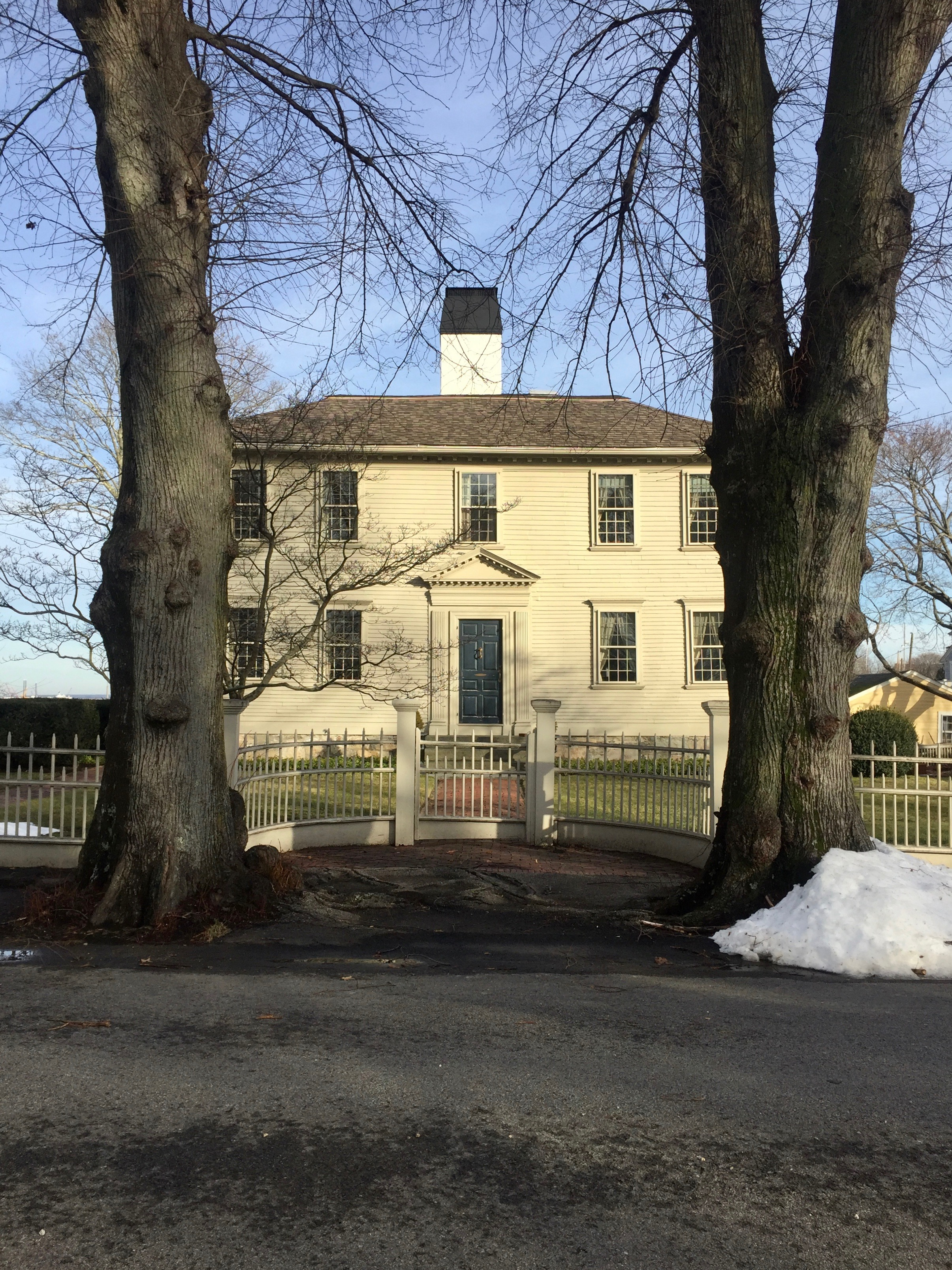 Wickford Rhode Island antique historic home New England Living